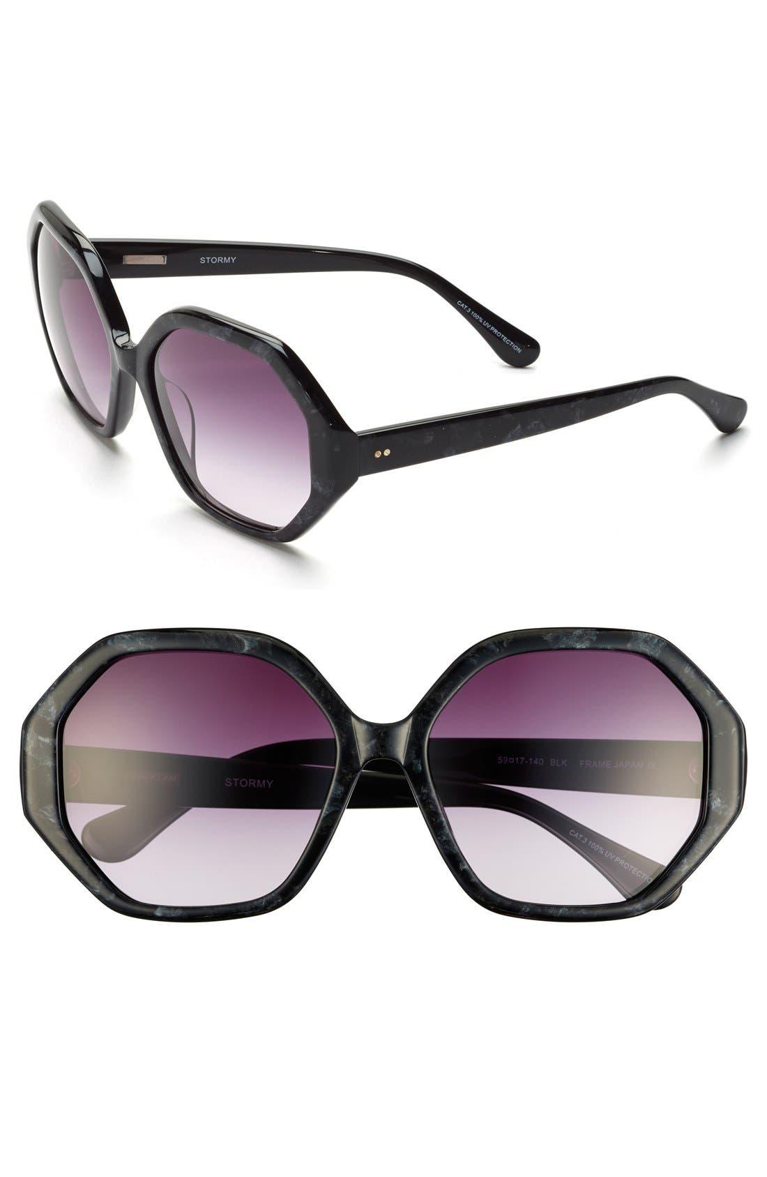 Alternate Image 1 Selected - Derek Lam 'Stormy' 59mm Sunglasses