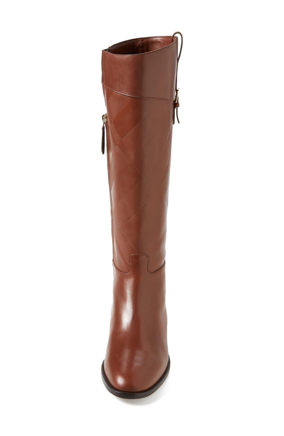 Alternate Image 3  - Burberry 'Copse' Riding Boot (Women)