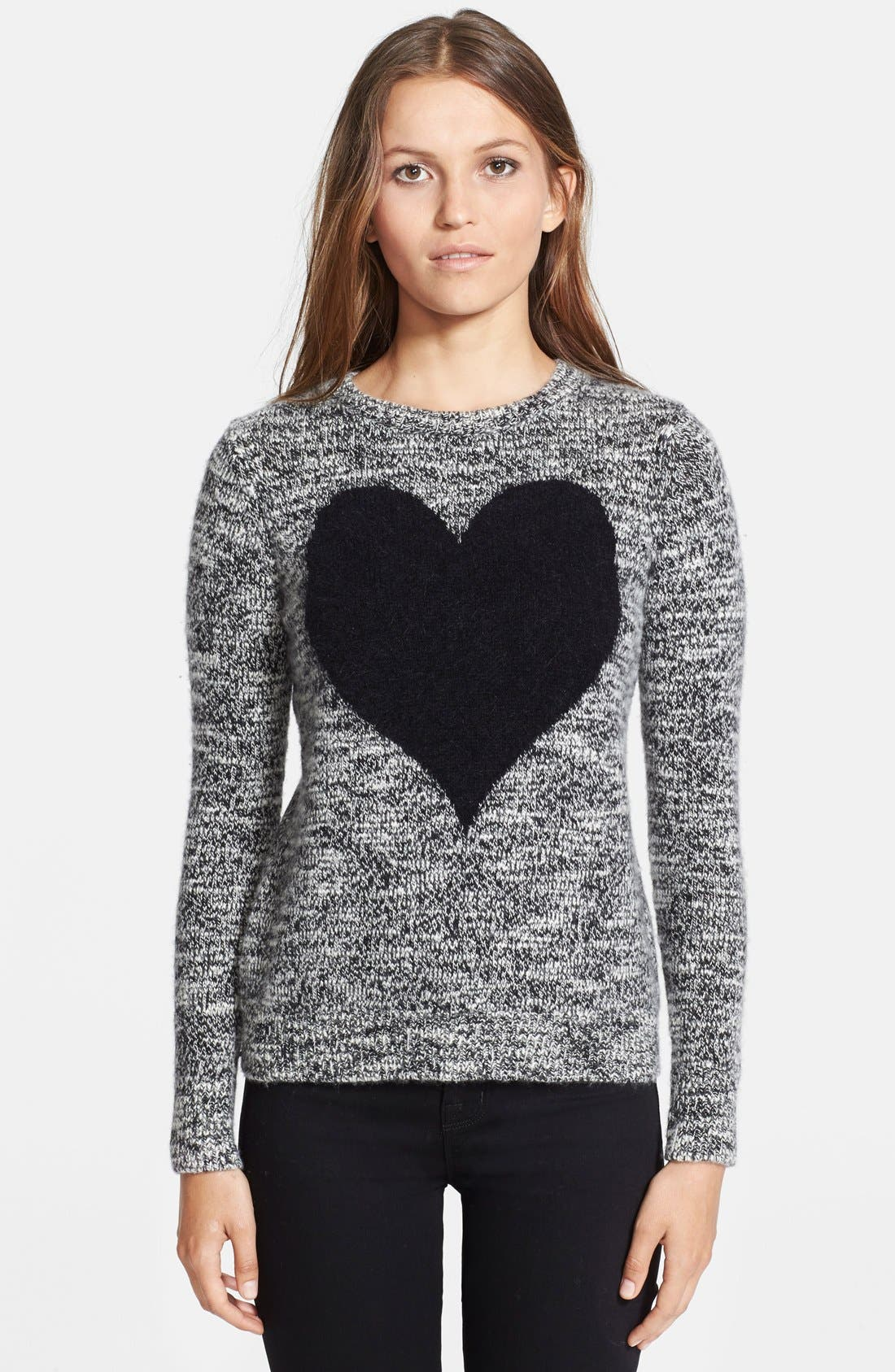 Alternate Image 1 Selected - autumn cashmere Intarsia Knit Cashmere Sweater