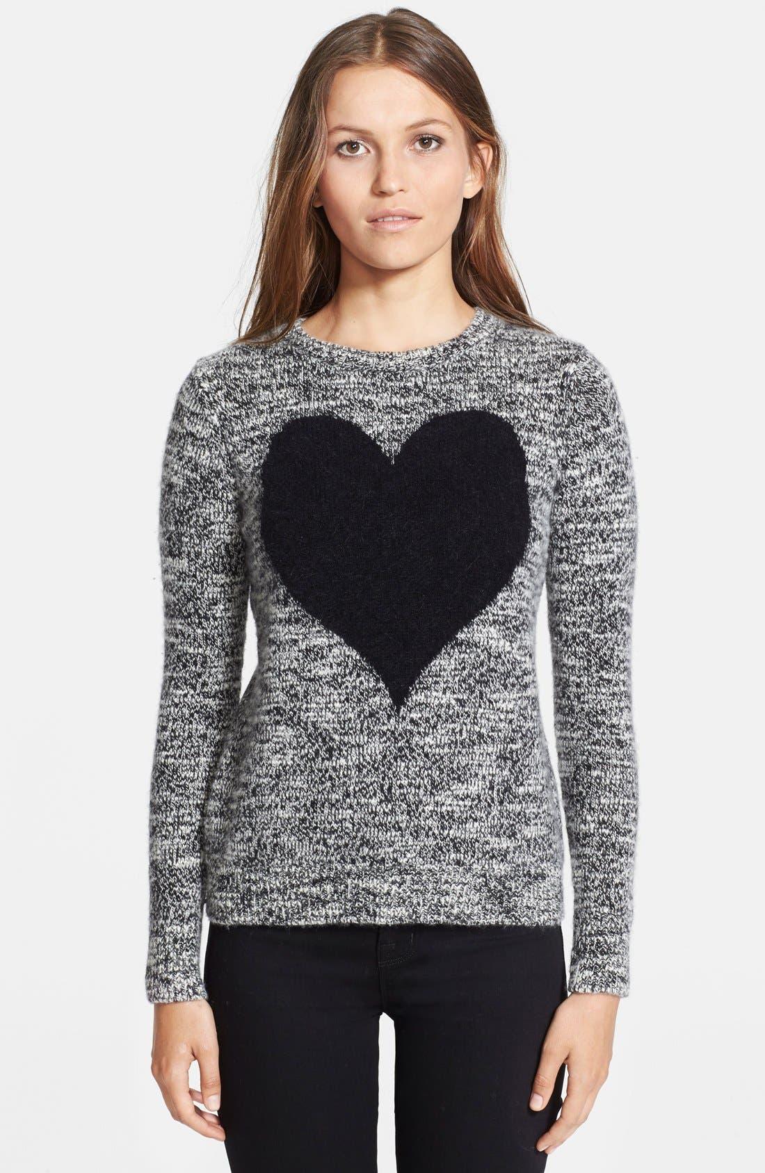 Main Image - autumn cashmere Intarsia Knit Cashmere Sweater