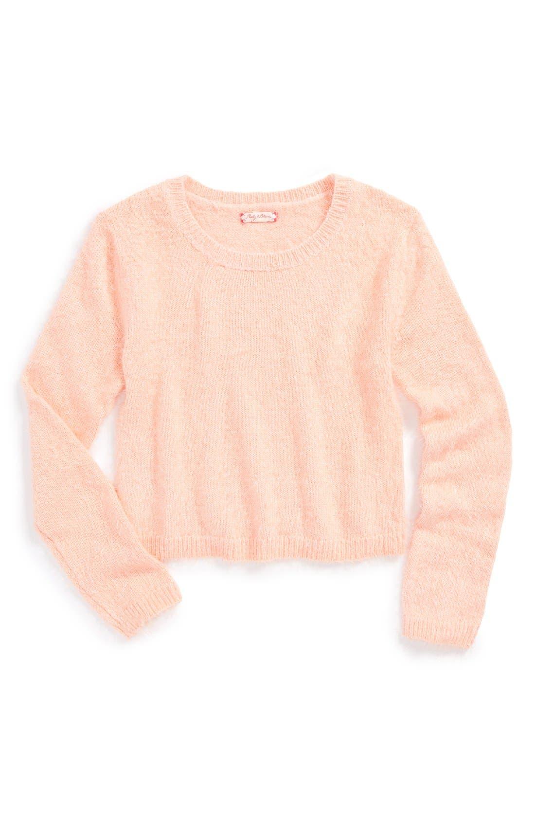 Alternate Image 1 Selected - Ruby & Bloom 'Jetee' Sweater (Little Girls & Big Girls)