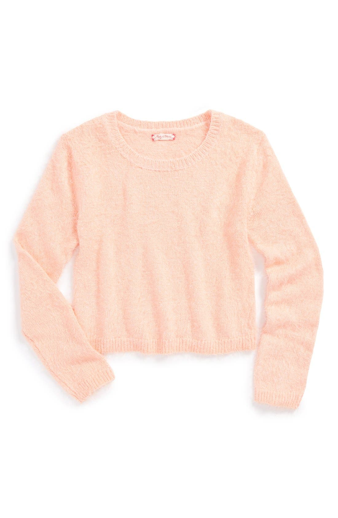 Main Image - Ruby & Bloom 'Jetee' Sweater (Little Girls & Big Girls)