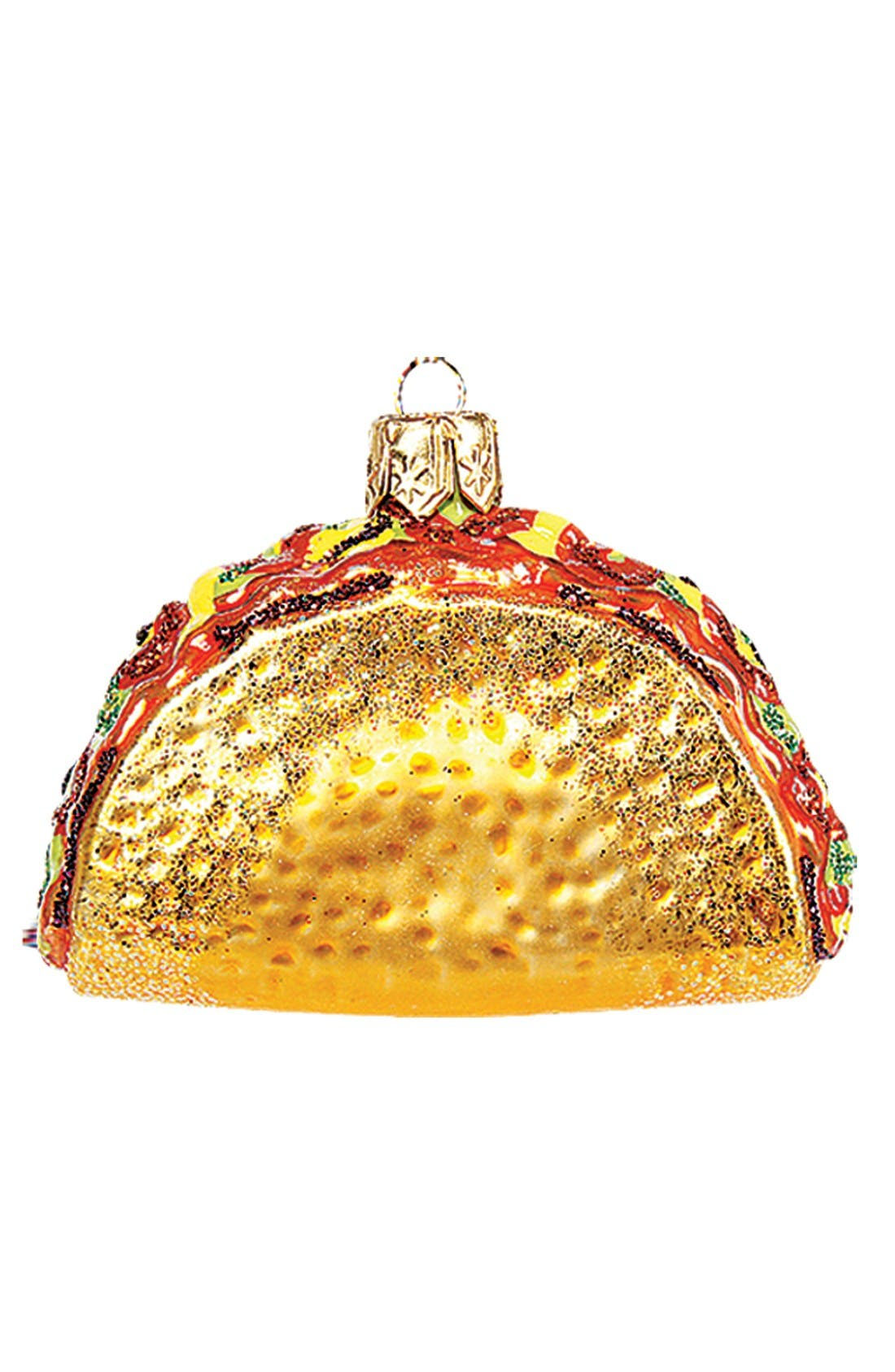 Main Image - Nordstrom at Home Taco Ornament