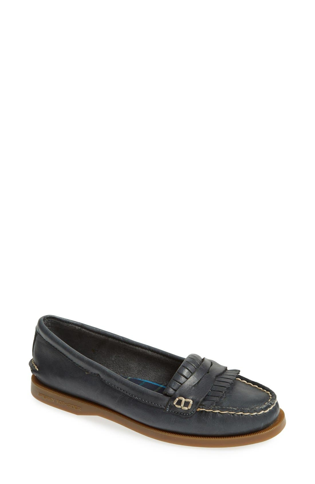 Alternate Image 1 Selected - Sperry Top-Sider® 'Avery' Leather Loafer (Women)