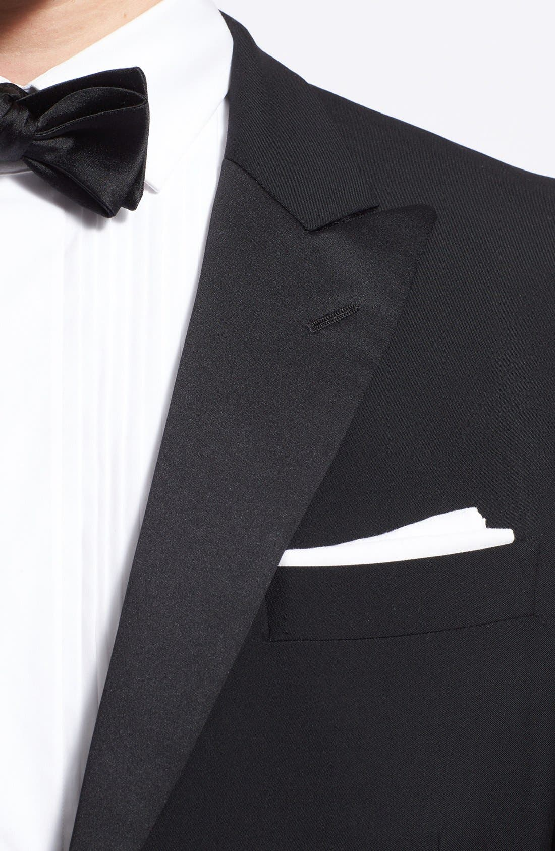 Alternate Image 5  - Ralph Lauren Black Label Wool Tuxedo
