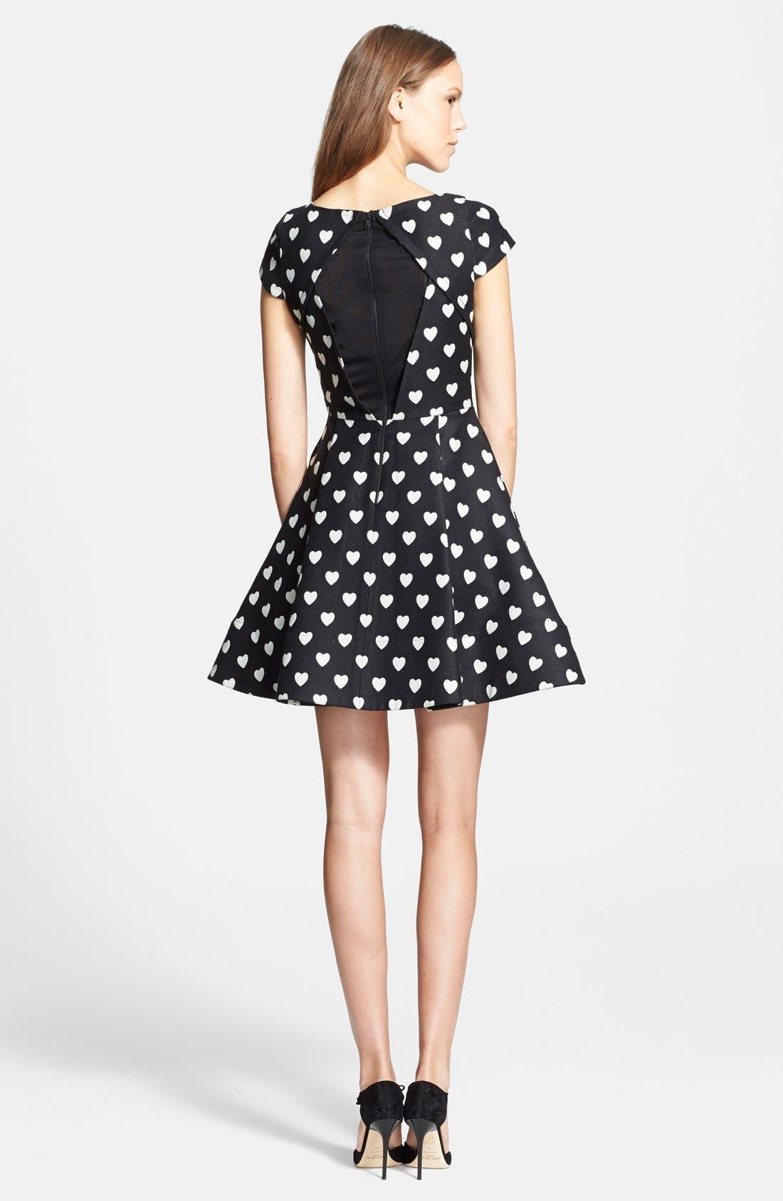 Alternate Image 2  - Alice + Olivia 'Amor' Fit & Flare Dress