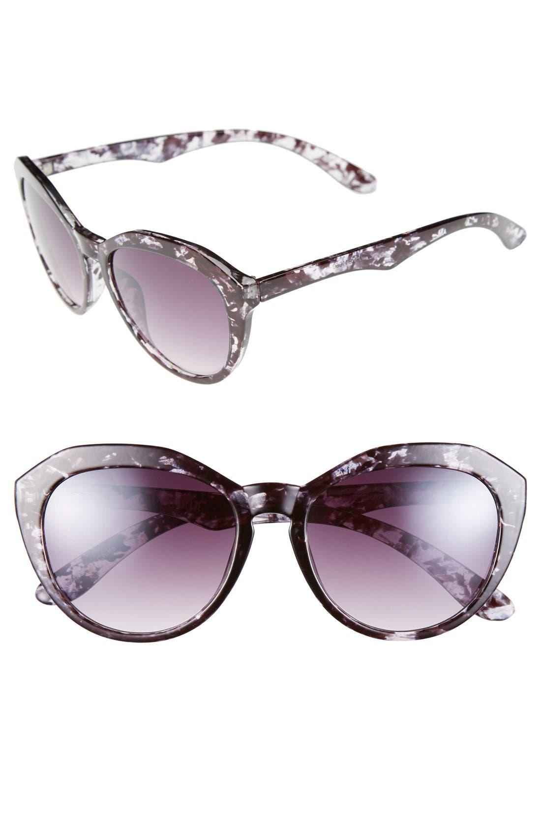 Alternate Image 1 Selected - BP. 53mm Marble Sunglasses (Juniors)