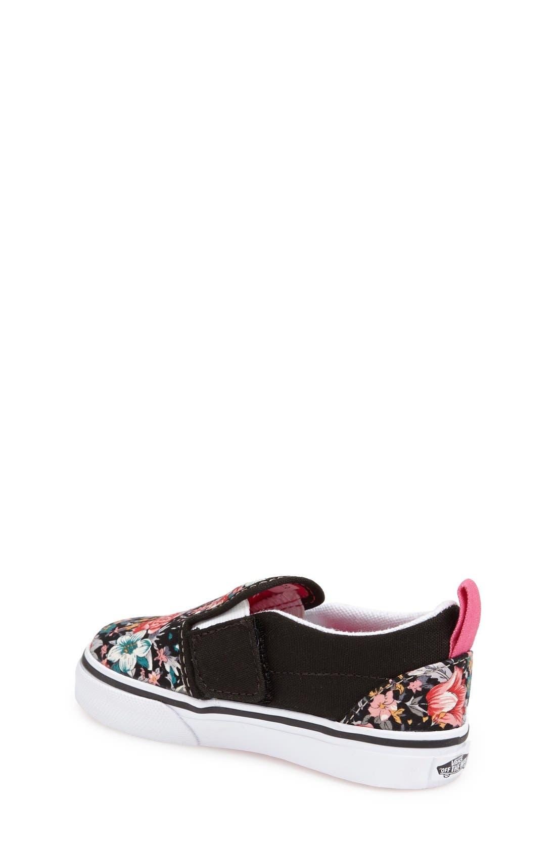 Alternate Image 2  - Vans 'Classic' Slip-On Sneaker (Baby, Walker & Toddler)