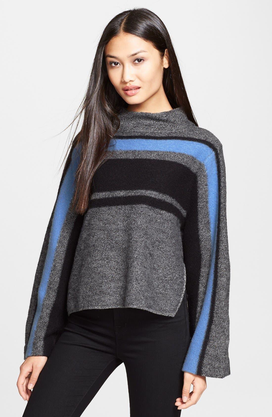 Alternate Image 1 Selected - Tibi Merino Wool Pullover