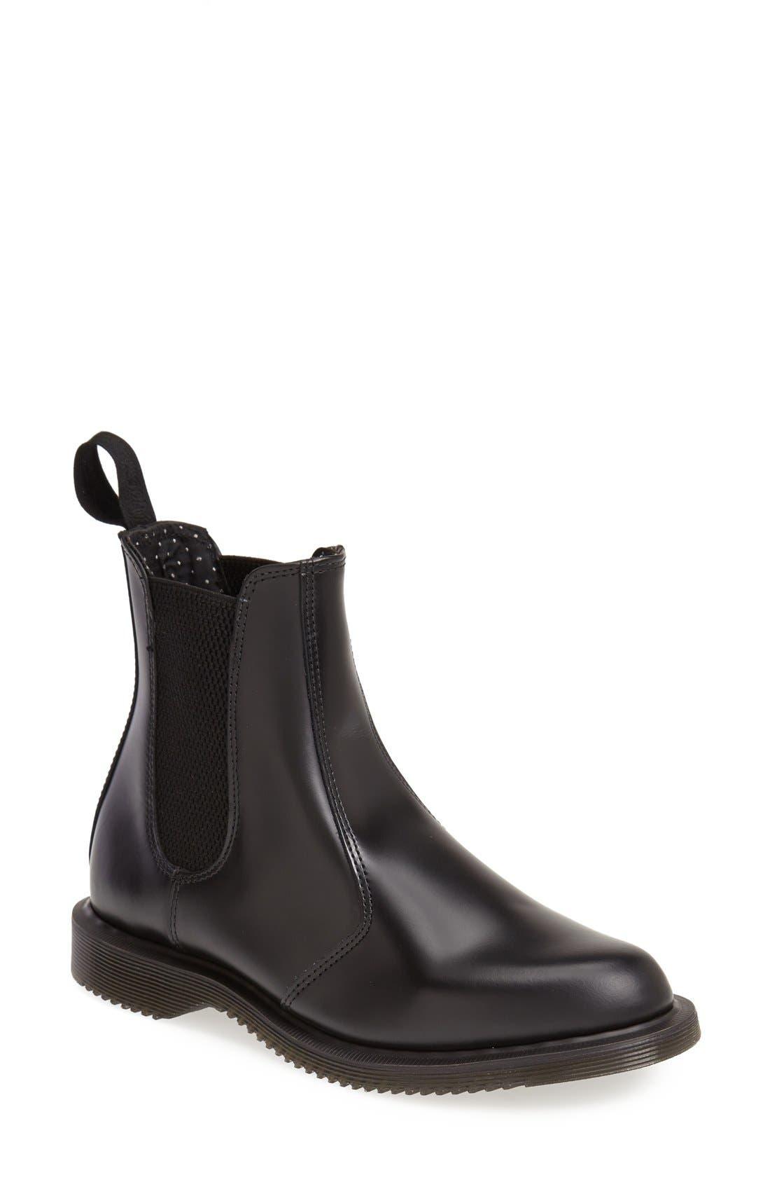 Alternate Image 1 Selected - Dr. Martens 'Flora' Chelsea Boot (Women)