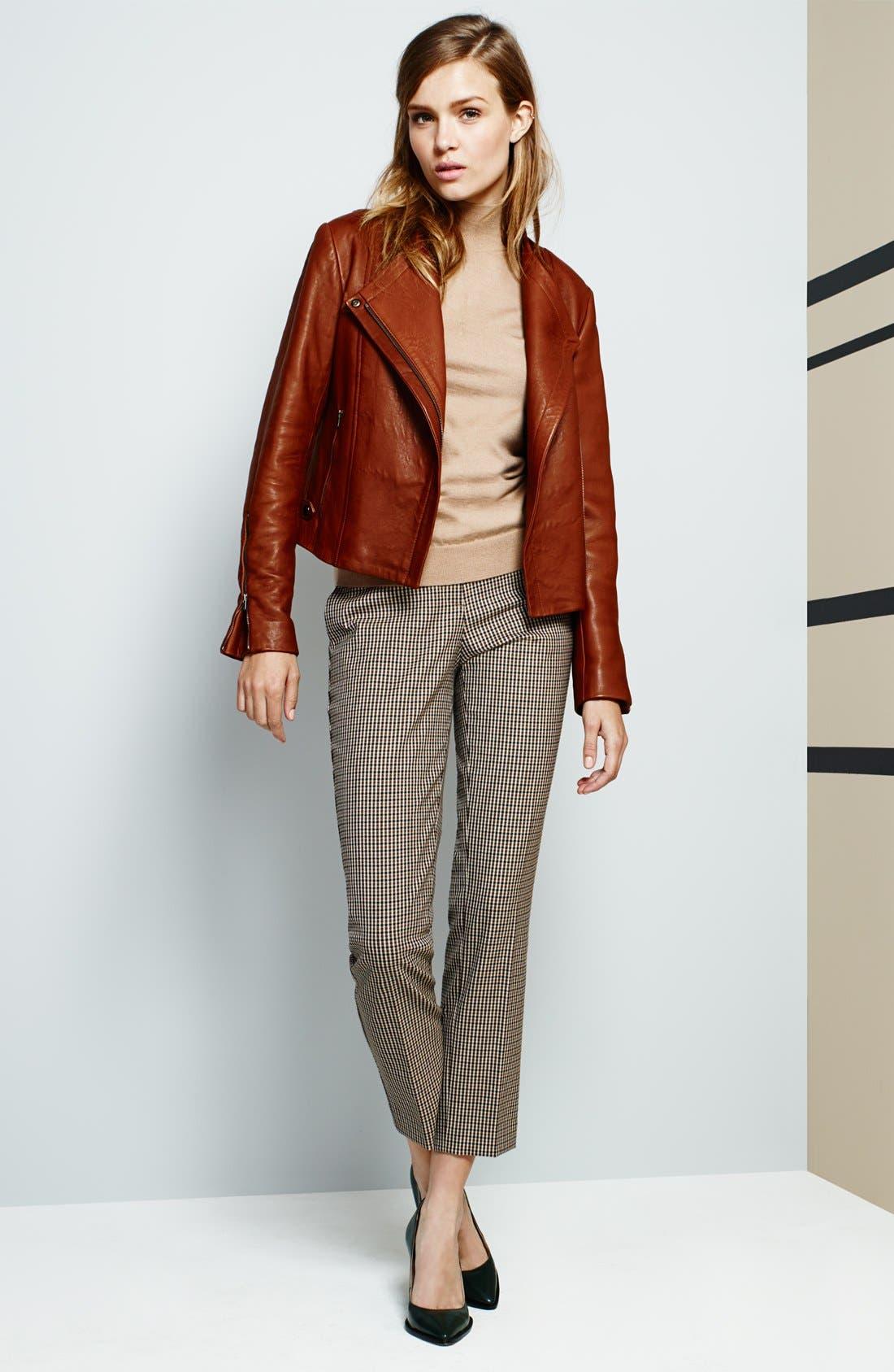 Alternate Image 5  - Theory Sleeveless Cashmere Blend Sweater