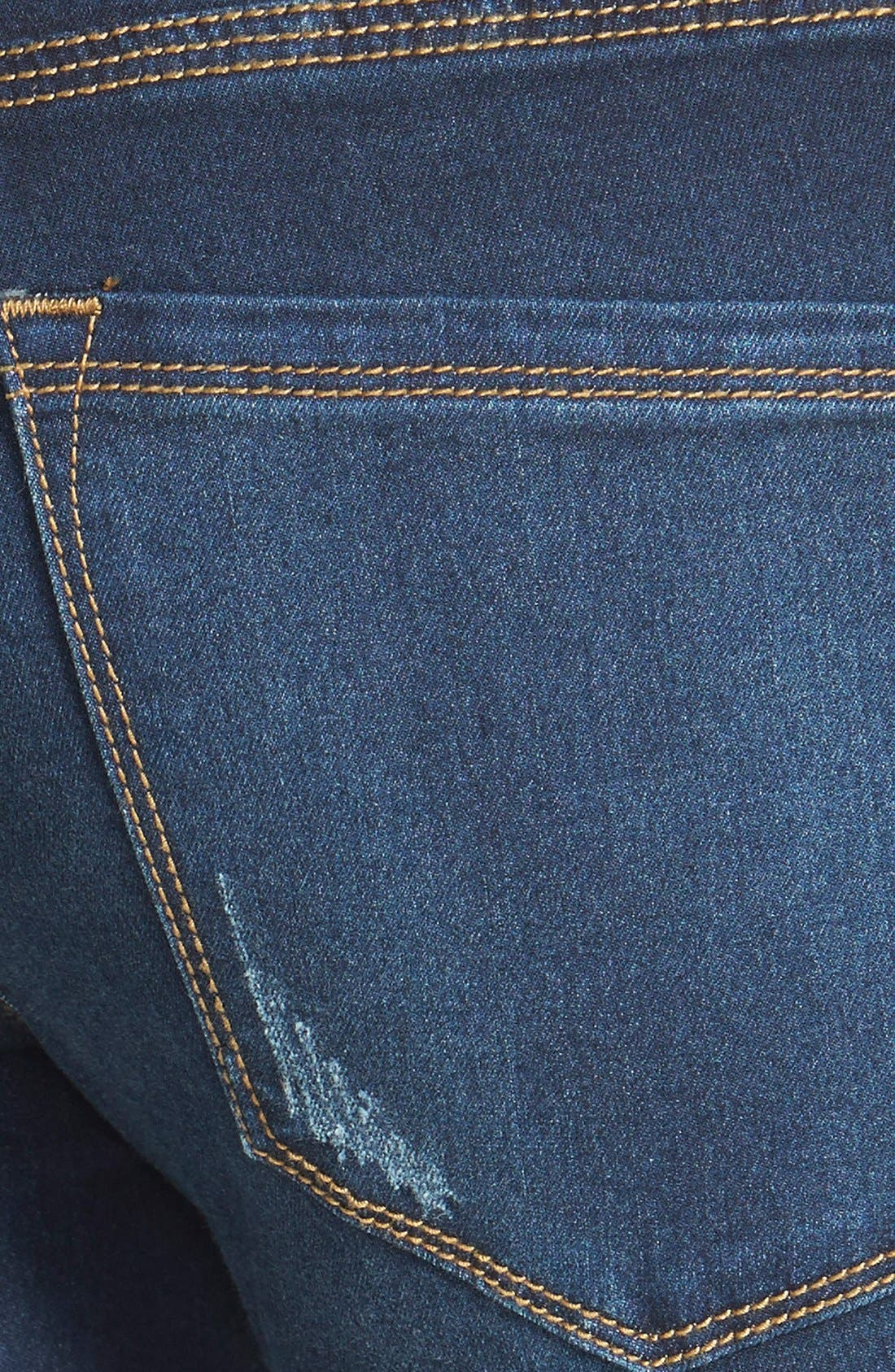 Alternate Image 3  - Free People 'Roller' Crop Skinny Jeans (Ella)