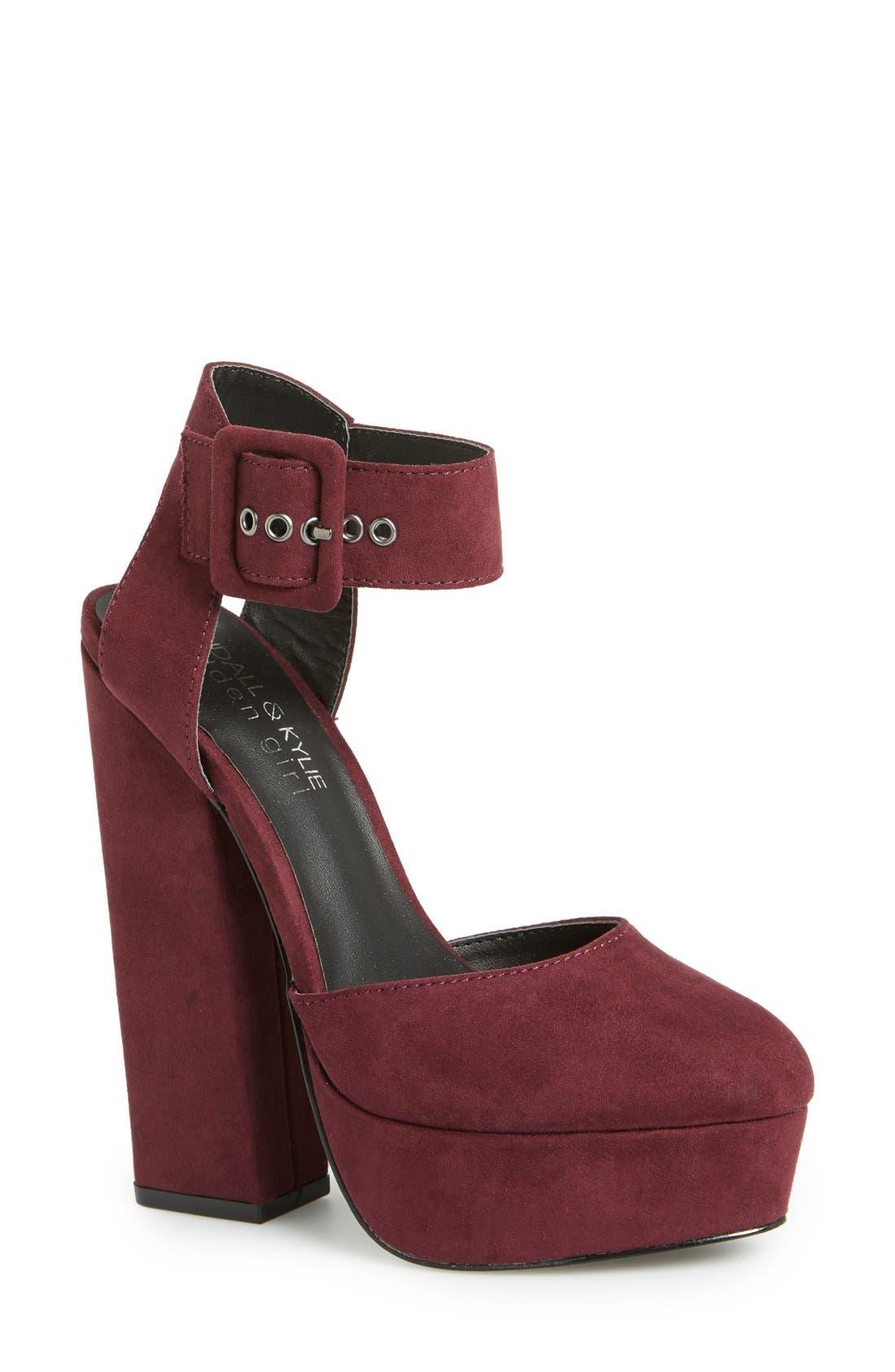 Alternate Image 1 Selected - KENDALL + KYLIE Madden Girl 'Whimsey' Platform Sandal (Women)