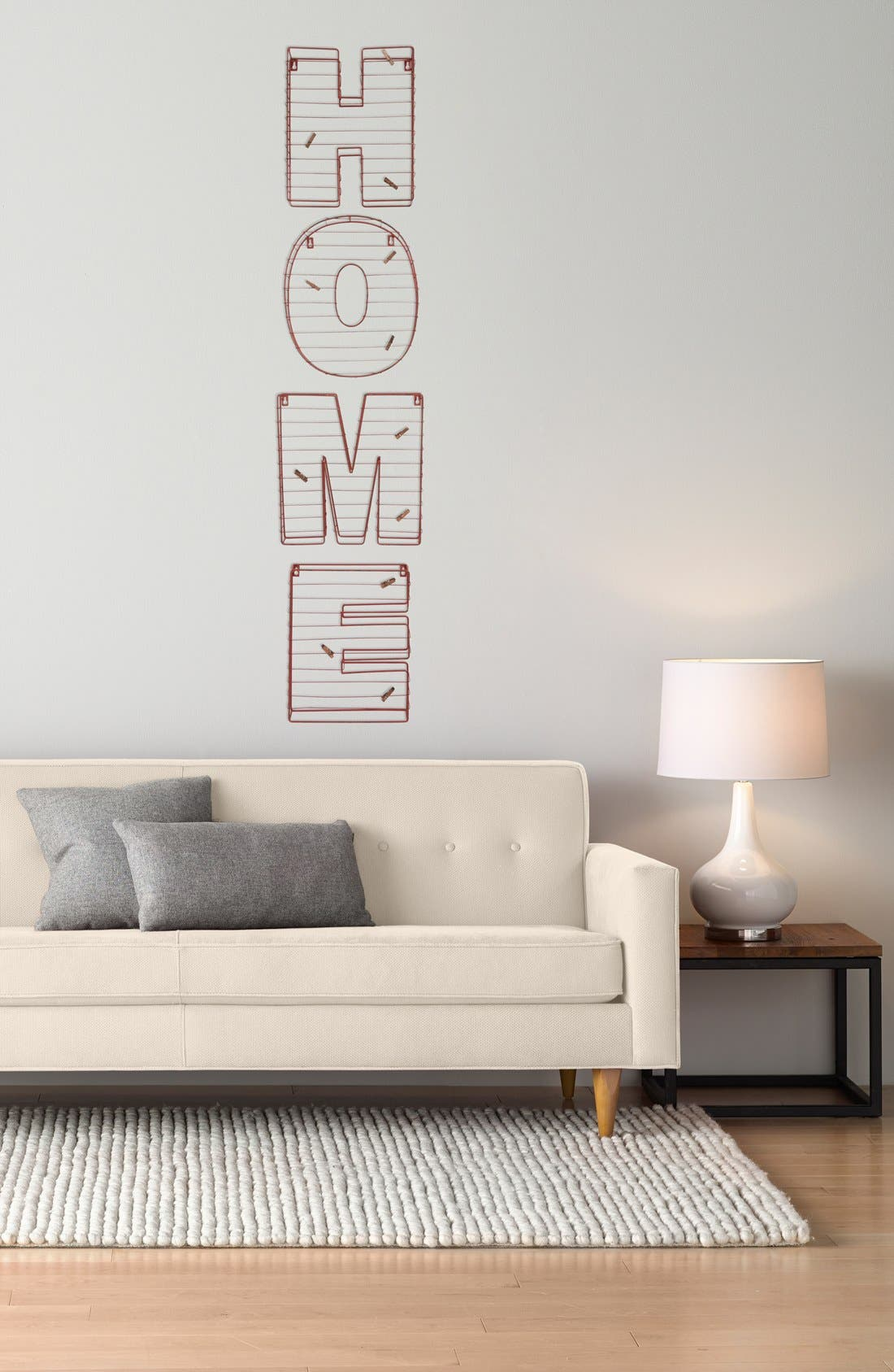 Alternate Image 2  - VIP International 'Home' Wall Art & Picture Holder