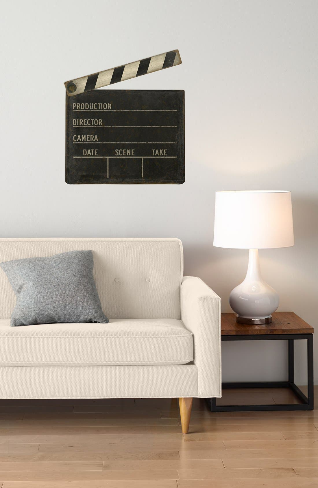 Alternate Image 2  - Spicher and Company 'Film Clapboard' Vintage Look Wall Art