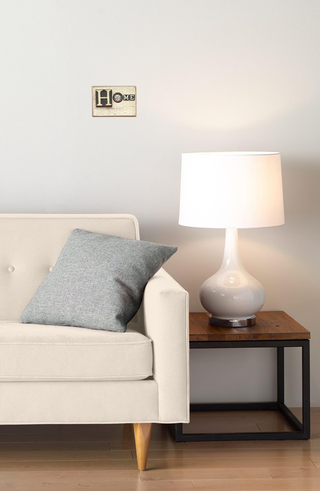 Alternate Image 3  - Creative Co-Op 'Home' Embellished Wooden Wall Art