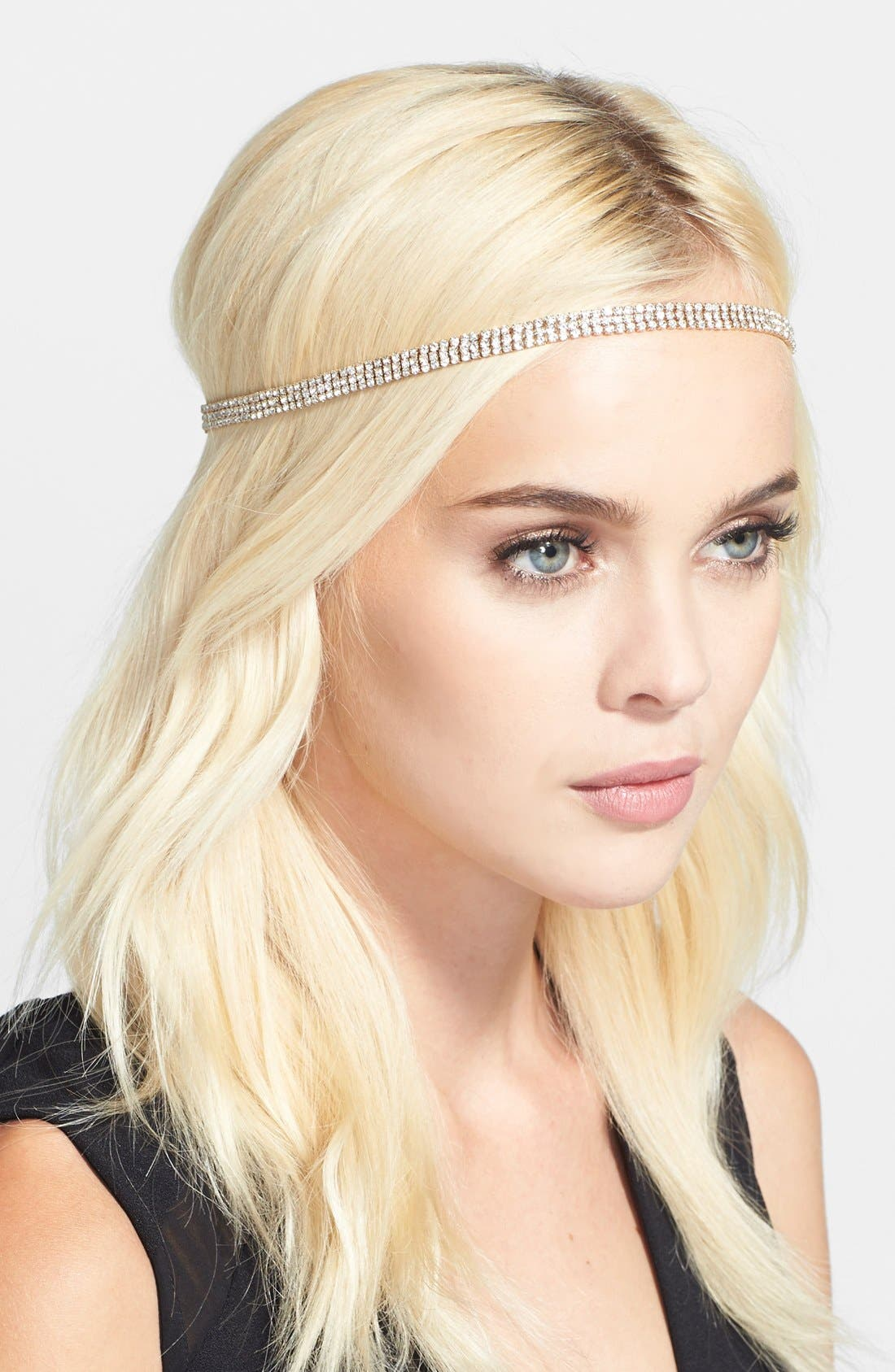 Alternate Image 1 Selected - Cara 'Strand of Crystal' Head Wrap