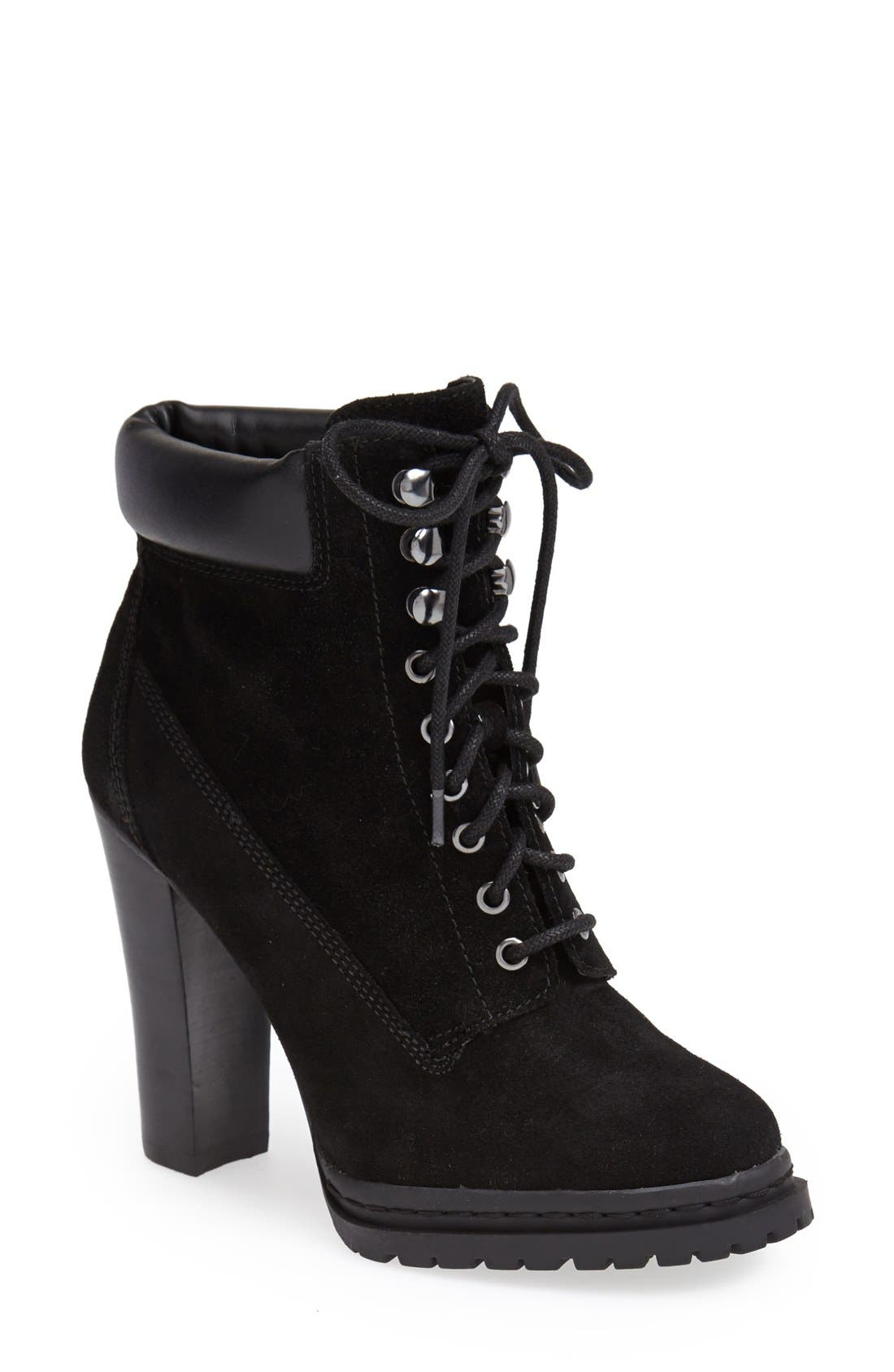 Alternate Image 1 Selected - BCBGeneration 'Maude' Lace-Up Bootie (Women)