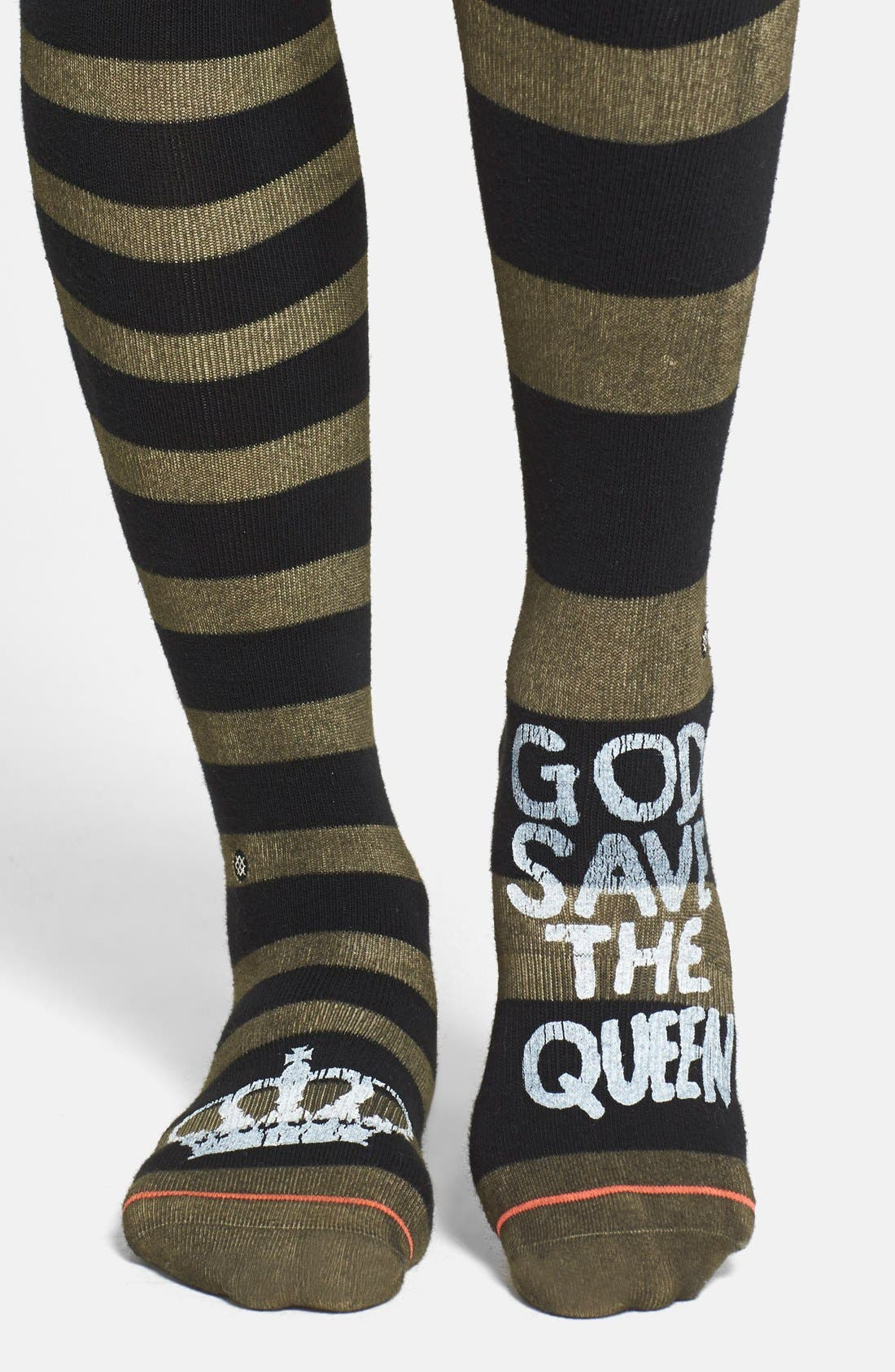 Alternate Image 1 Selected - Stance 'Save the Queen' Boot Socks
