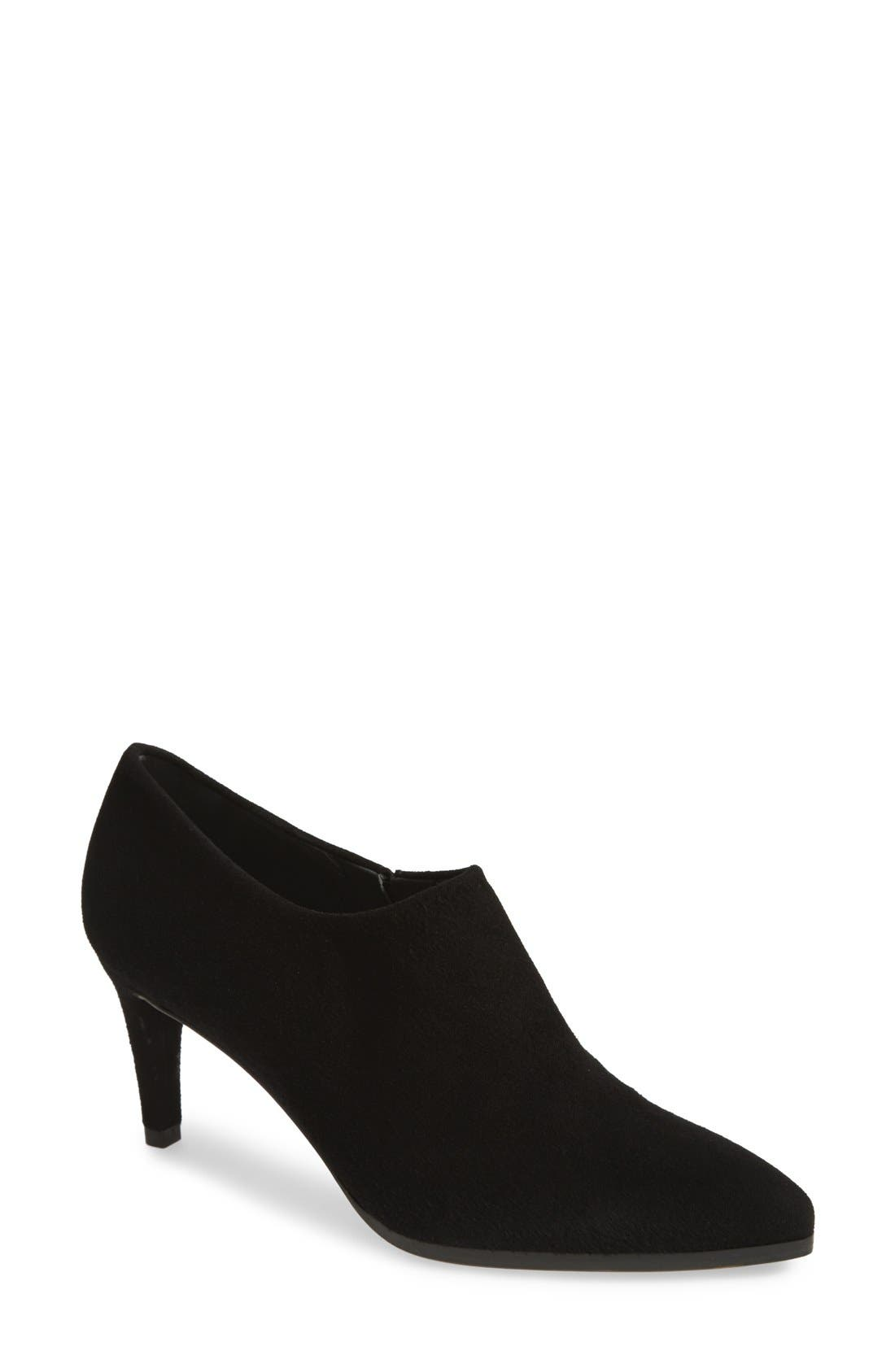 Alternate Image 1 Selected - Stuart Weitzman 'Standin' Leather Ankle Bootie (Women)