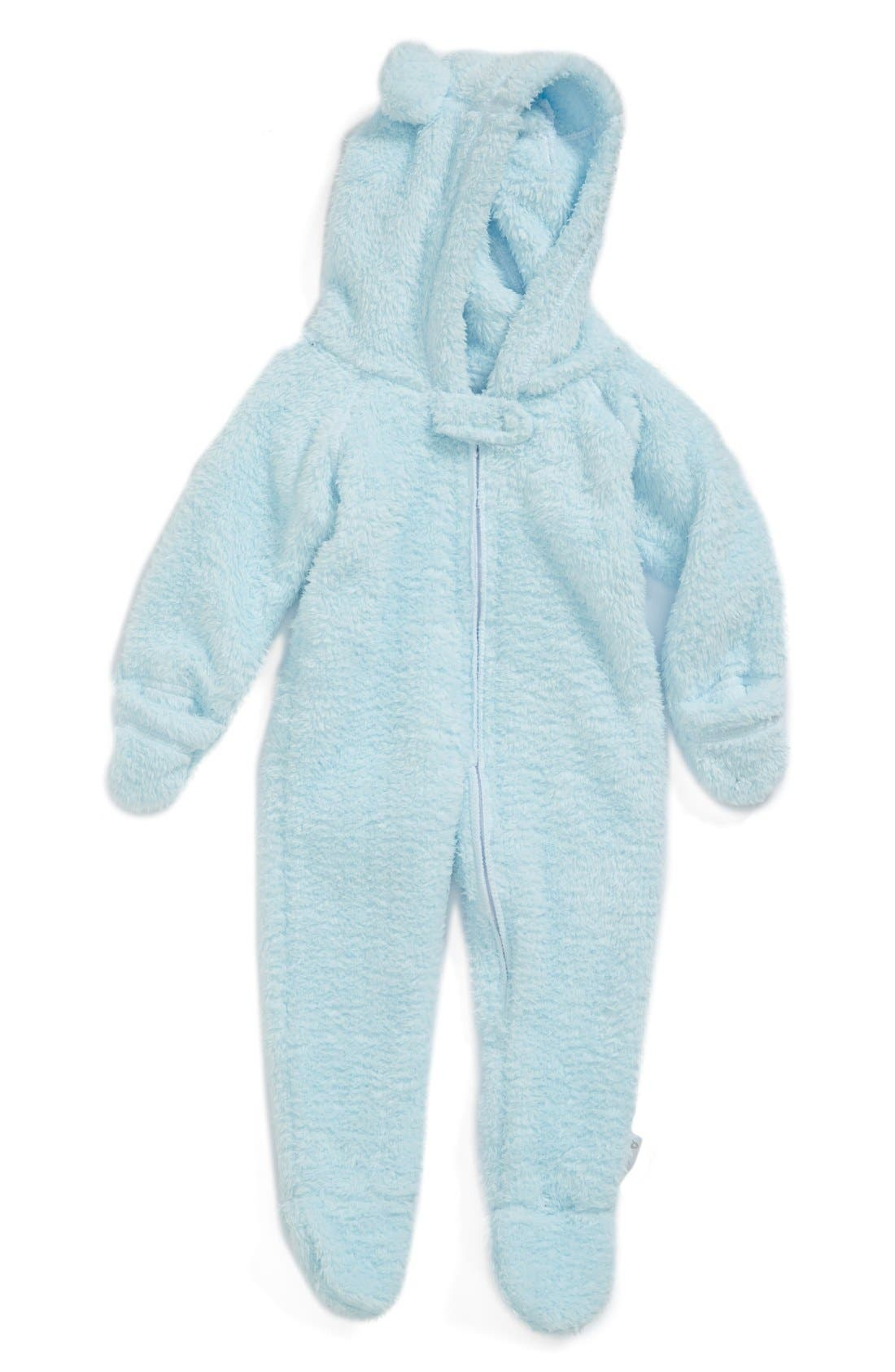 LITTLE GIRAFFE Chenille Snuggler Footie