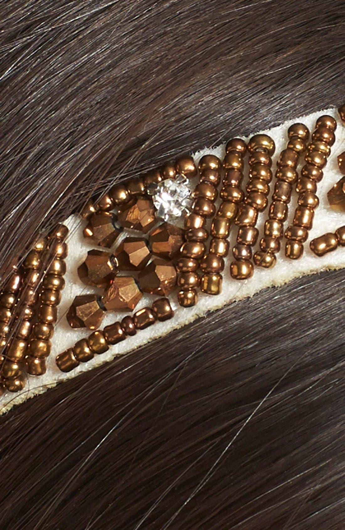 Alternate Image 2  - Tasha 'Royal Beads' Head Wrap