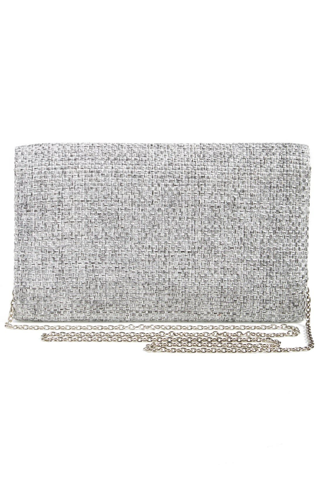 Alternate Image 4  - Glint 'Crystallized' Envelope Clutch