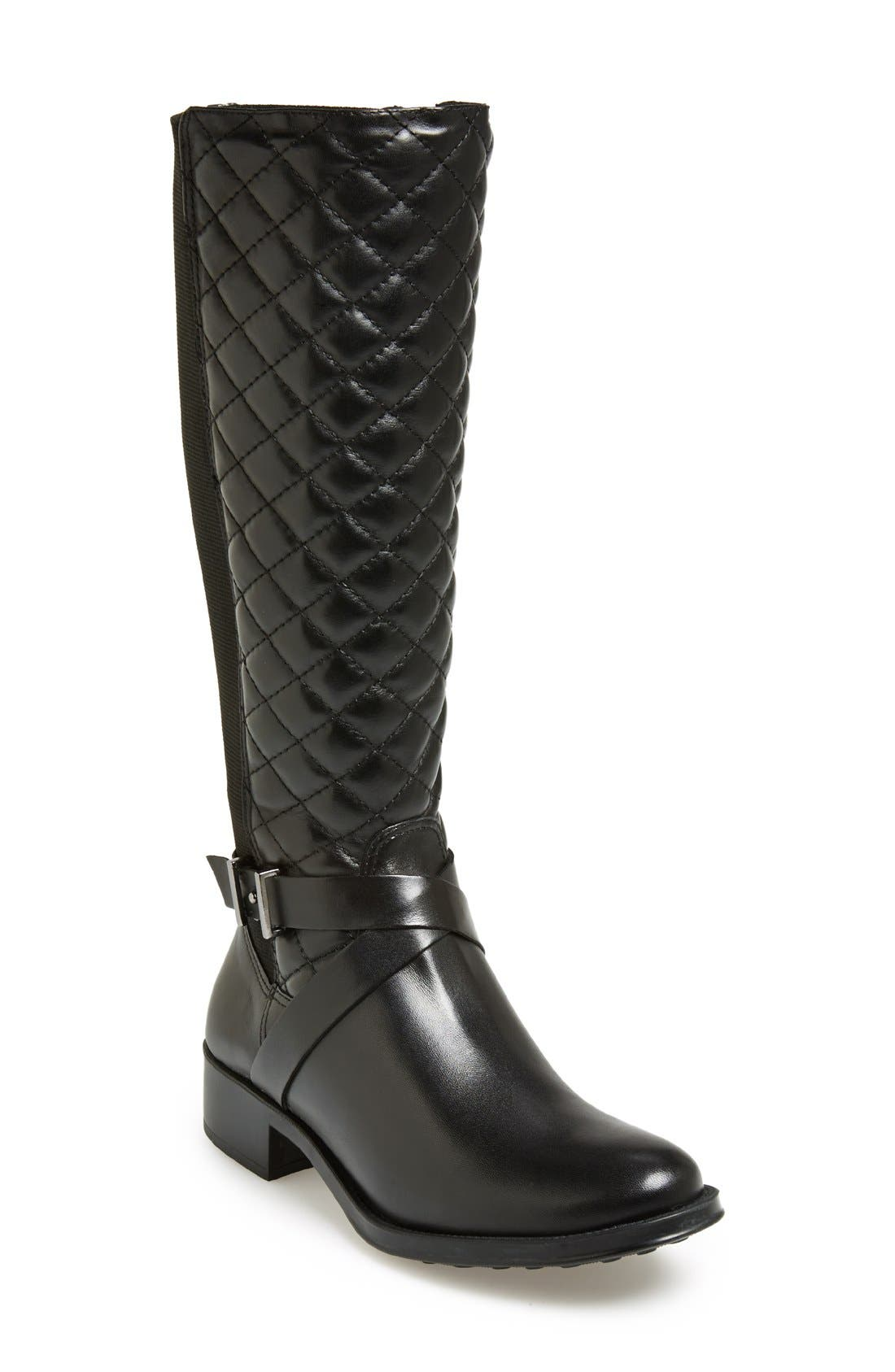 Alternate Image 1 Selected - André Assous 'Seabiscuit' Waterproof Quilted Boot (Women)
