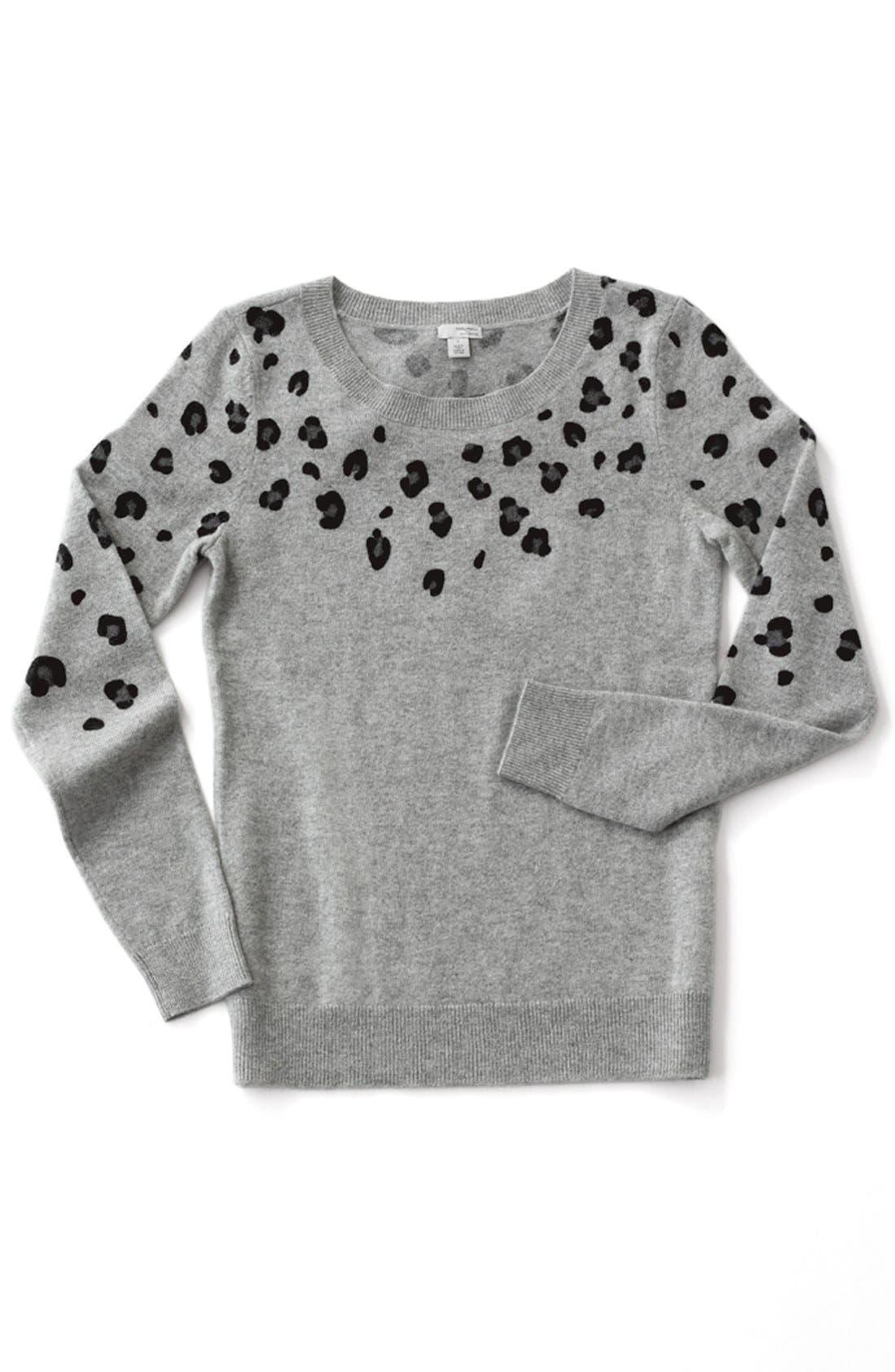 Alternate Image 10  - Halogen® Cashmere Crewneck Sweater (Regular & Petite)