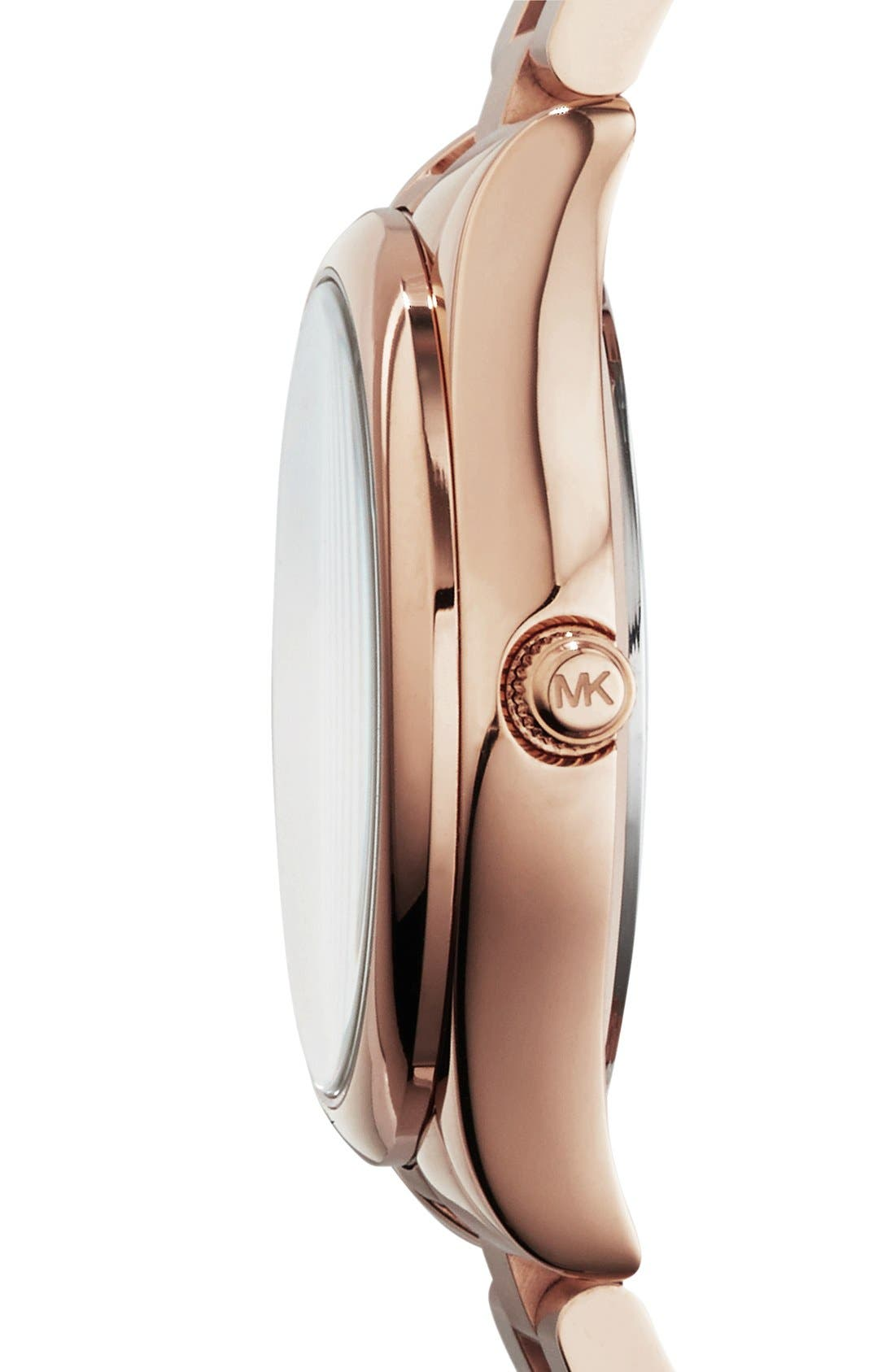 Alternate Image 3  - Michael Kors 'Colette' Round Bracelet Watch, 34mm