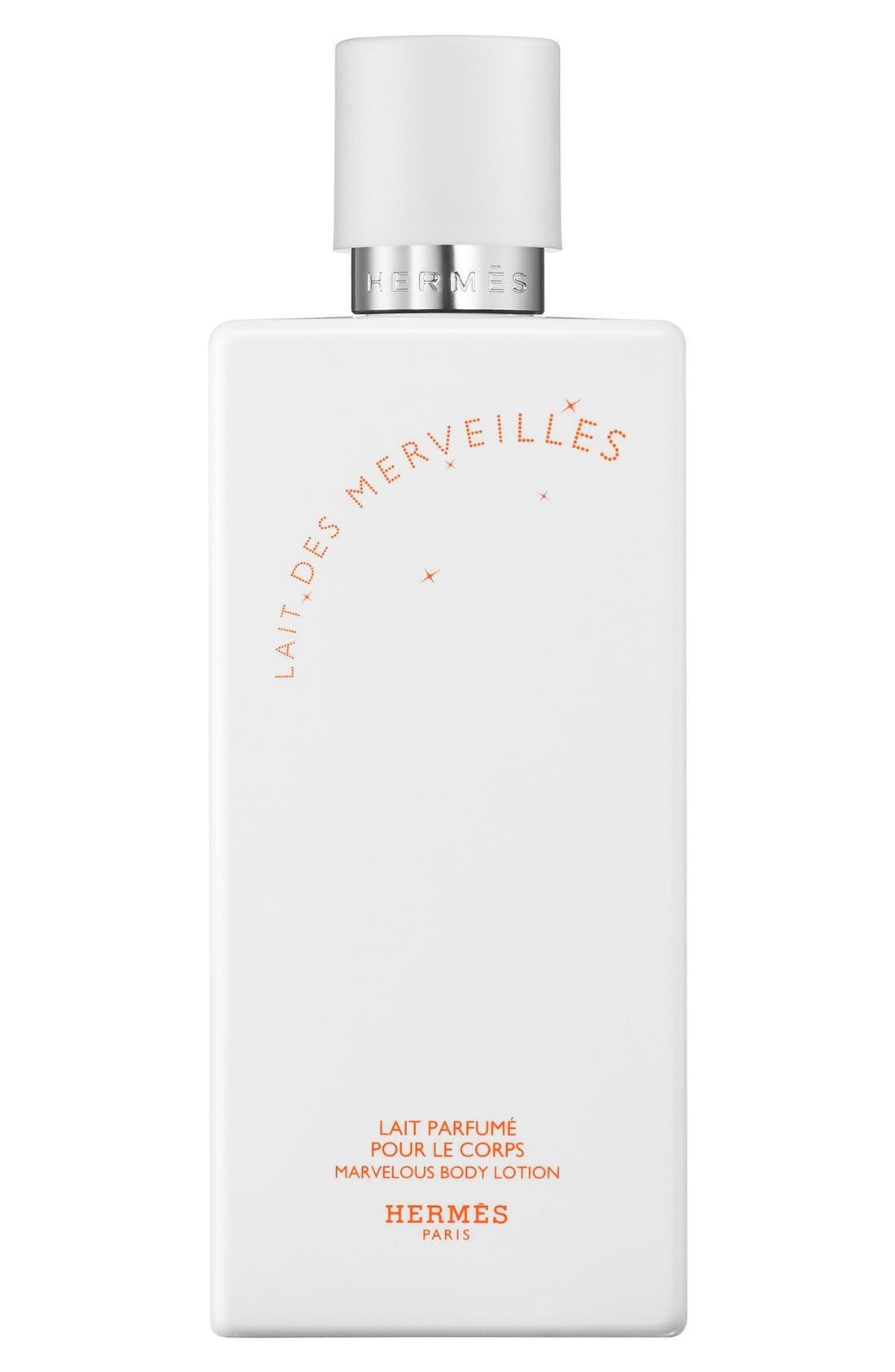Hermès Lait des Merveilles - Perfumed body lotion
