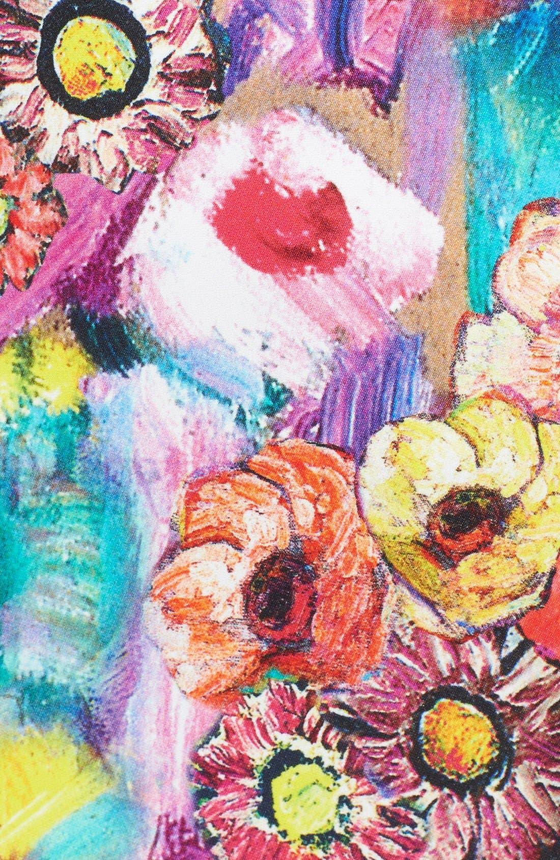 Alternate Image 3  - Just Cavalli Floral Print Sheath Dress