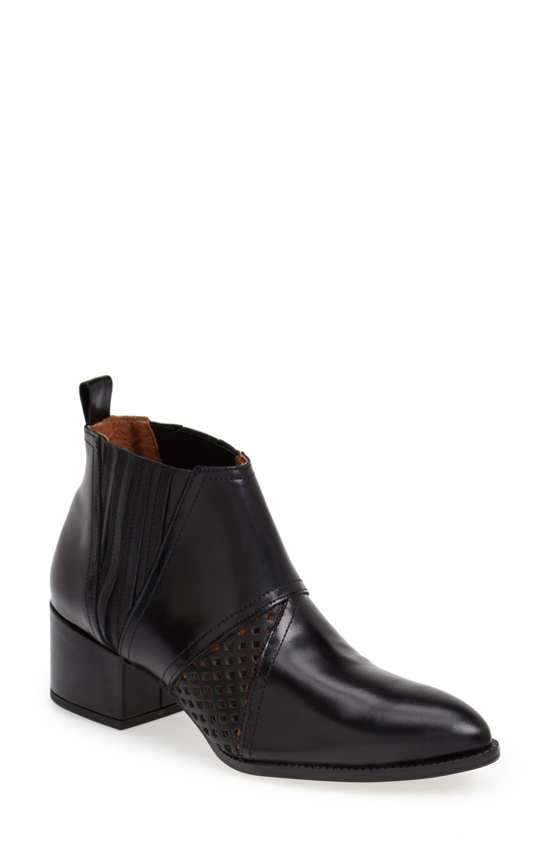 Alternate Image 1 Selected - SIXTYSEVEN 'Aria' Perforated Leather Bootie (Women)