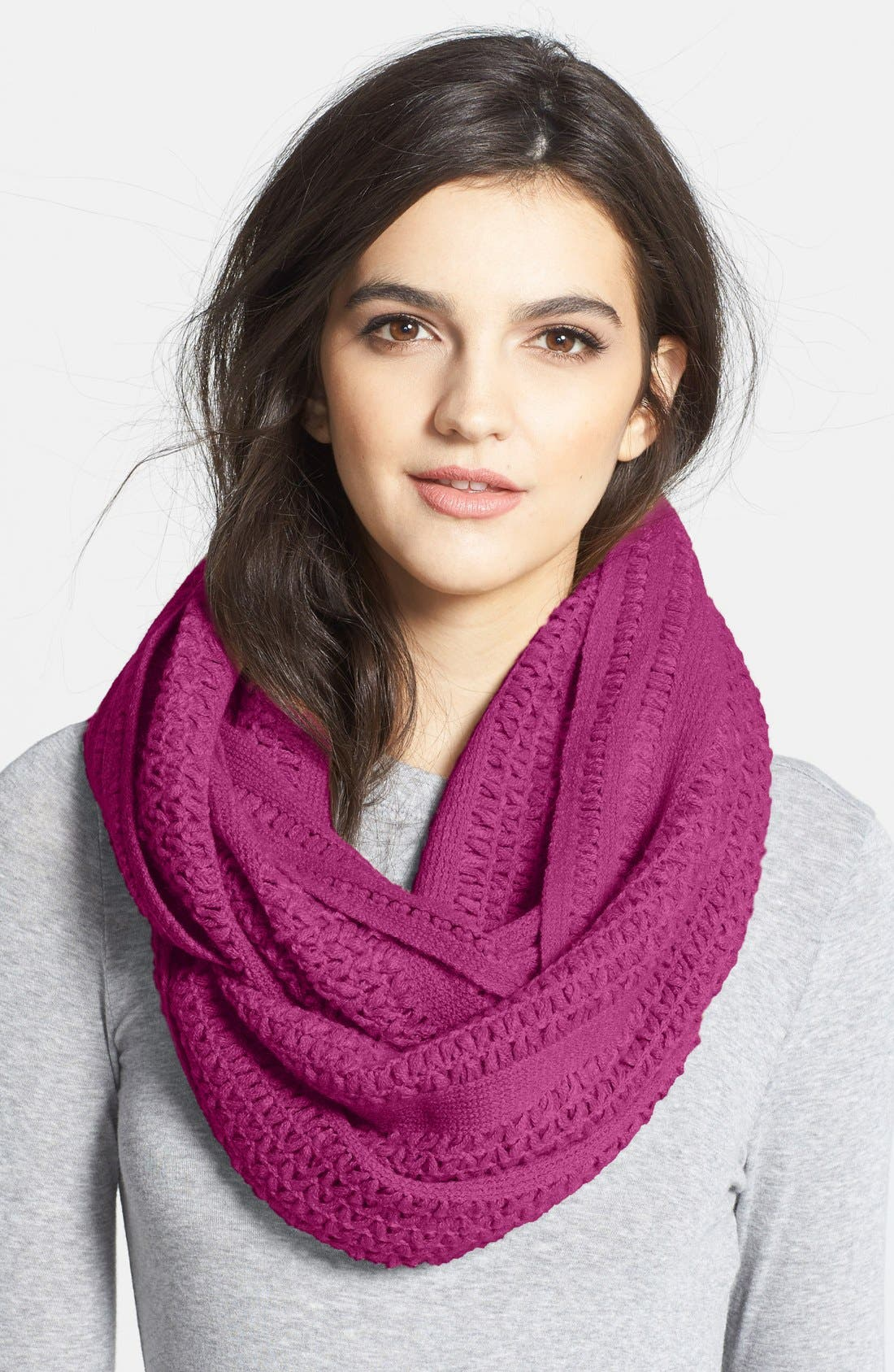 Main Image - Collection XIIX 'Cross Stitch' Infinity Scarf