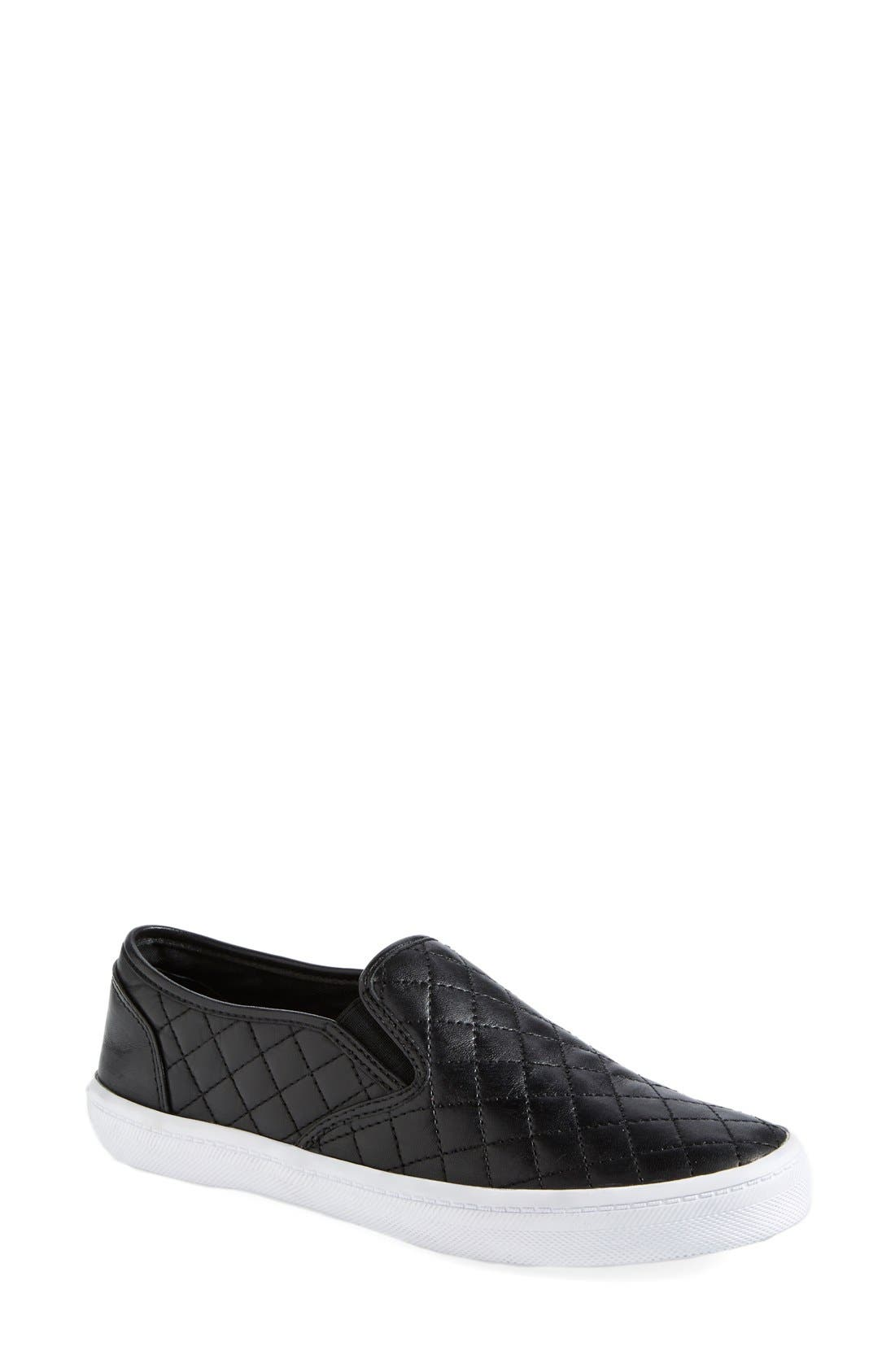Alternate Image 1 Selected - Rebecca Minkoff 'Sal' Slip-On Leather Sneaker (Women)