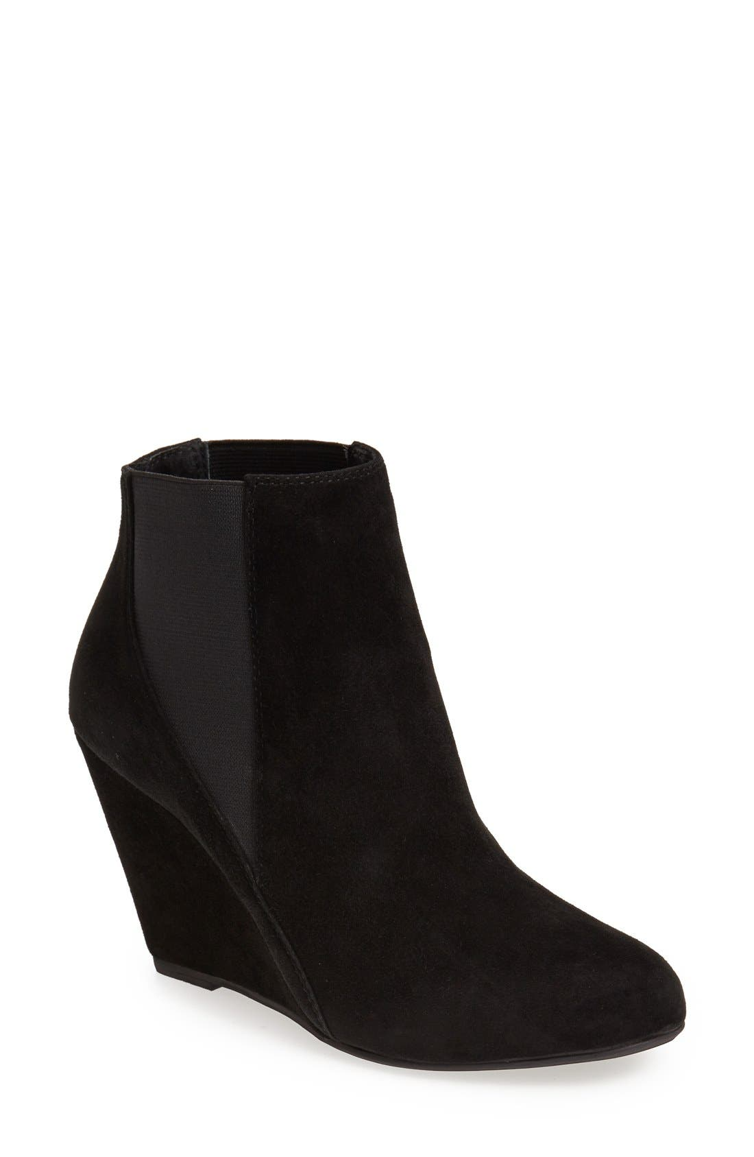 Alternate Image 1 Selected - Jeffrey Campbell 'Wagner' Suede Chelsea Boot (Women)