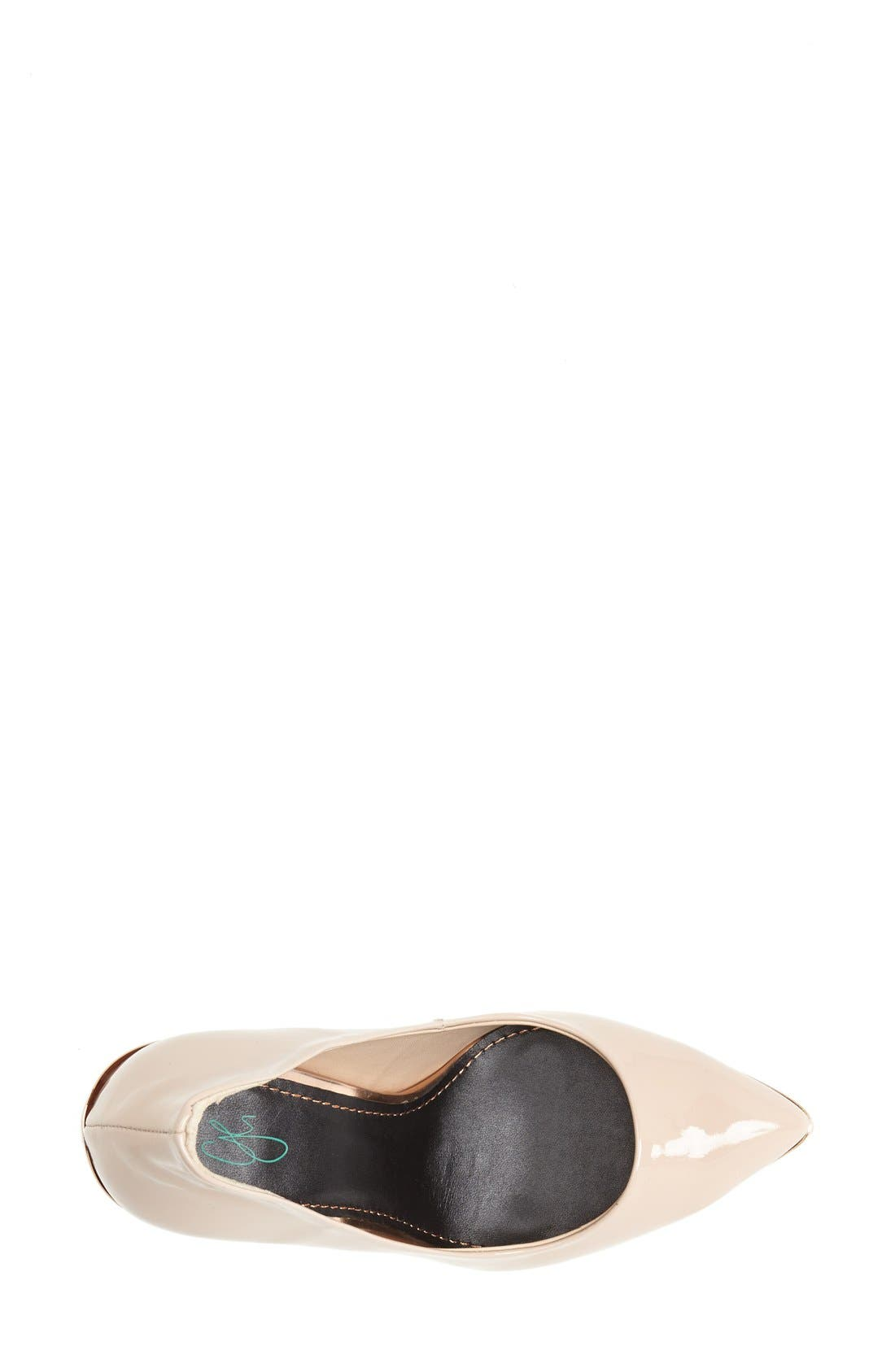 Alternate Image 3  - Topshop by CJG 'High Pitch' Patent Leather Pump (Women)