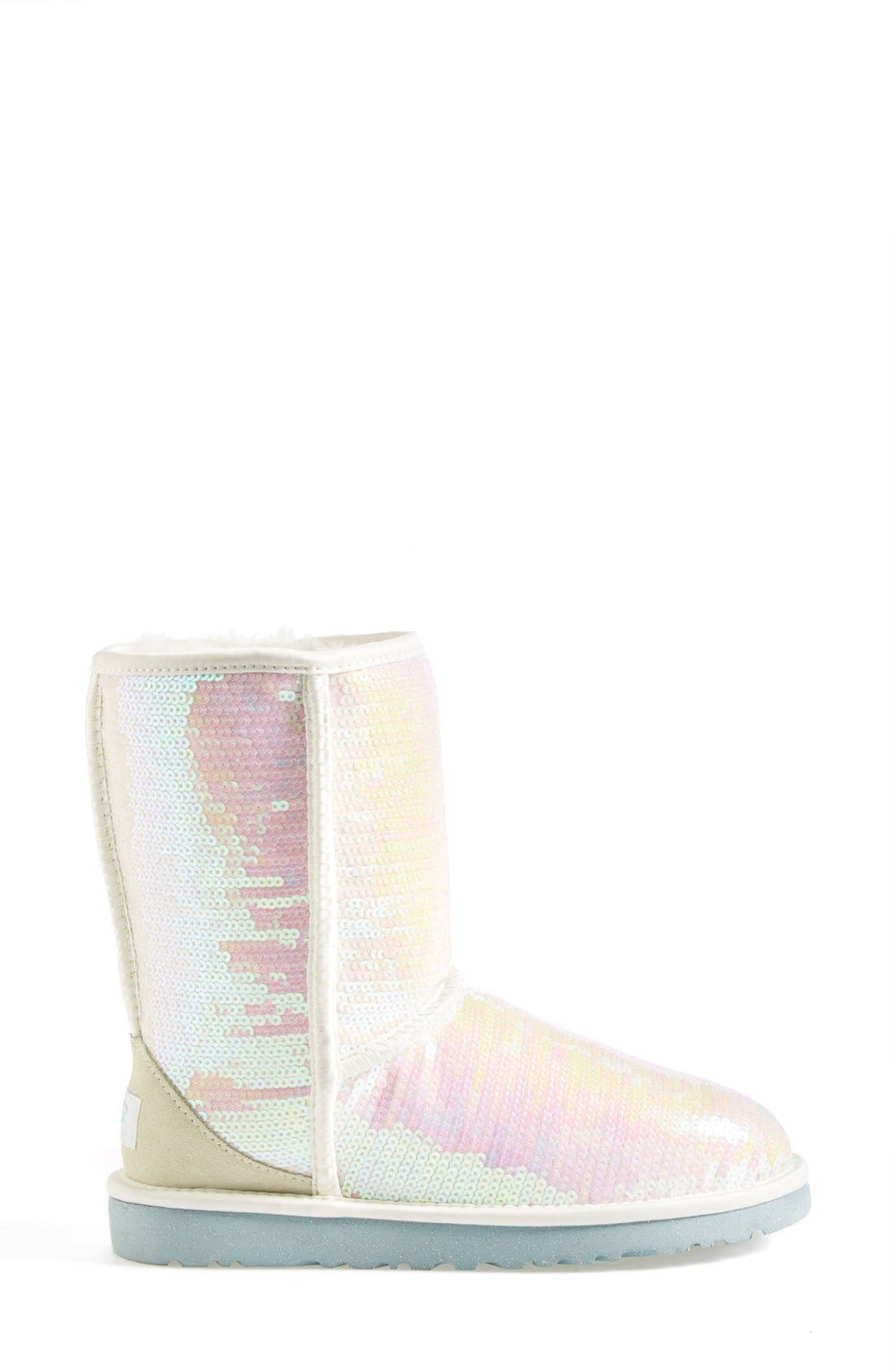 Alternate Image 7  - UGG® Australia 'Classic Short Sparkles - I Do' Boot (Women)