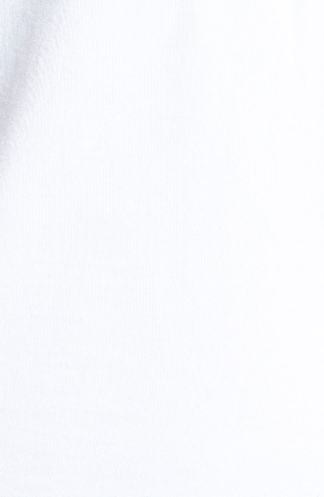 Alternate Image 3  - adidas Trefoil Logo Short Sleeve Tee