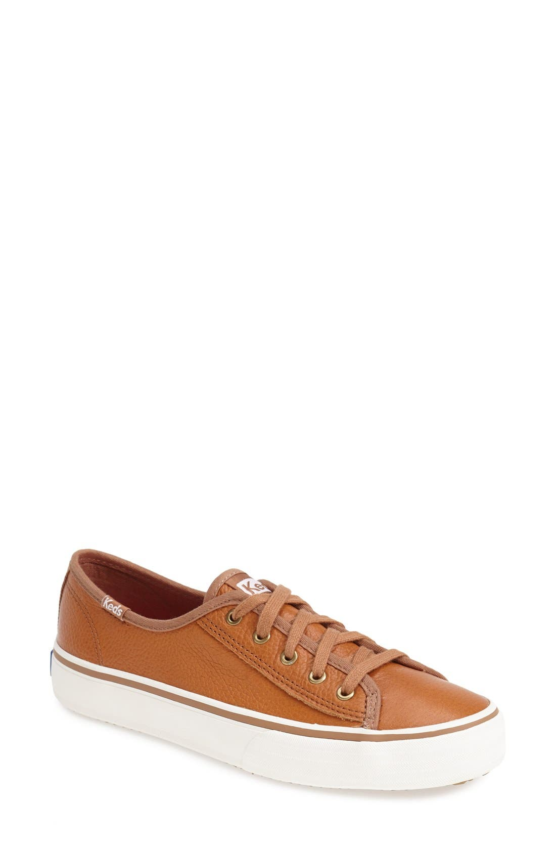 Alternate Image 1 Selected - Keds® 'Crashback - Double Up Leather' Sneaker (Women)