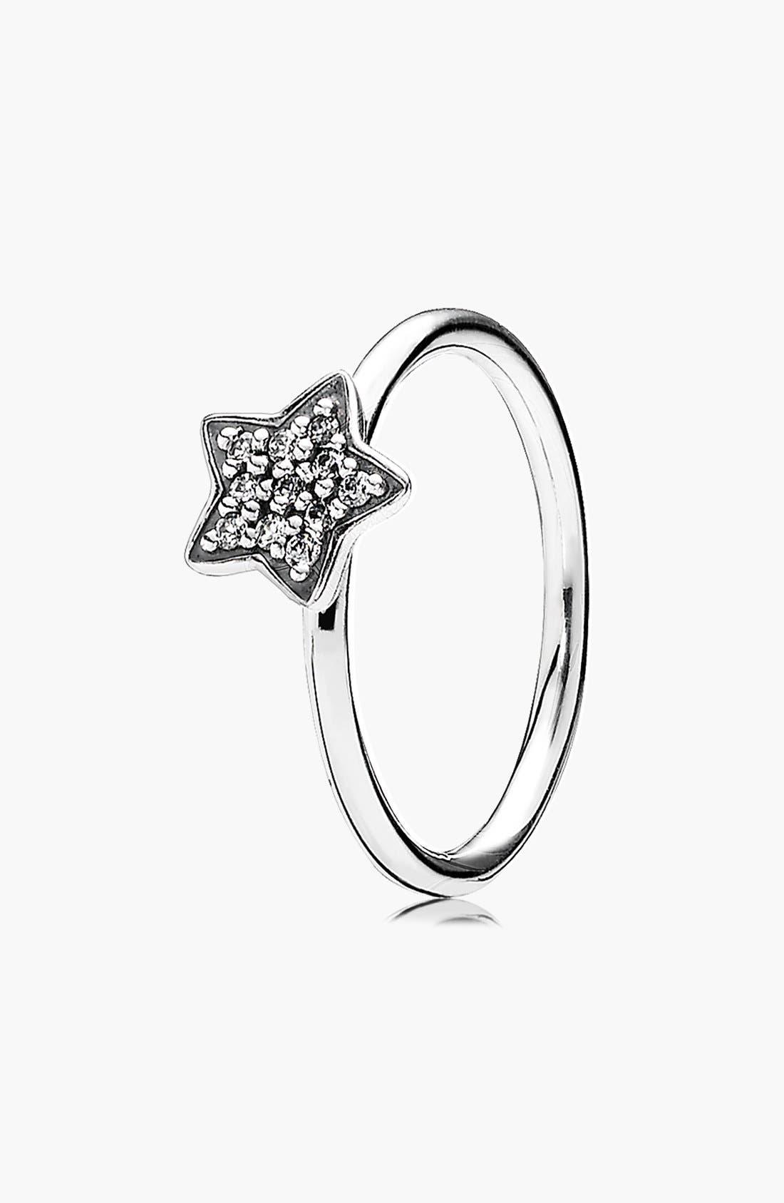 Alternate Image 1 Selected - PANDORA Pavé Star Ring