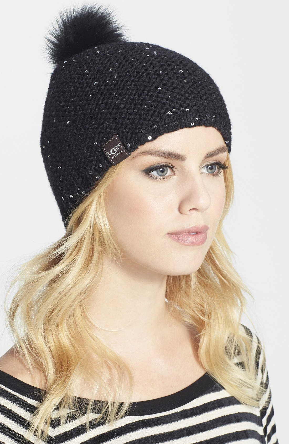 Main Image - UGG® Australia Slouchy Knit Beanie