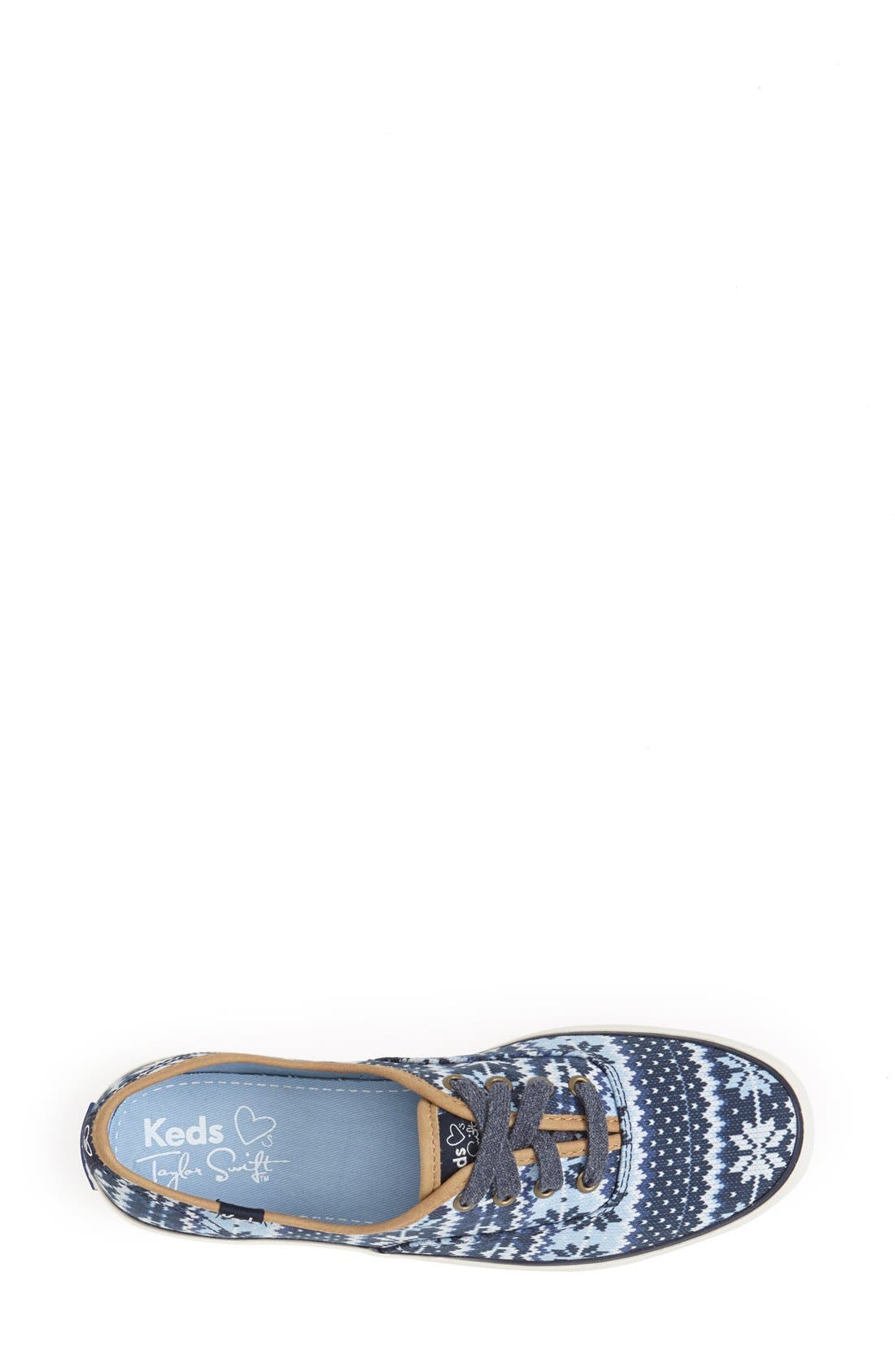 Alternate Image 3  - Keds® Taylor Swift 'Champion - Fair Isle' Sneaker (Women)