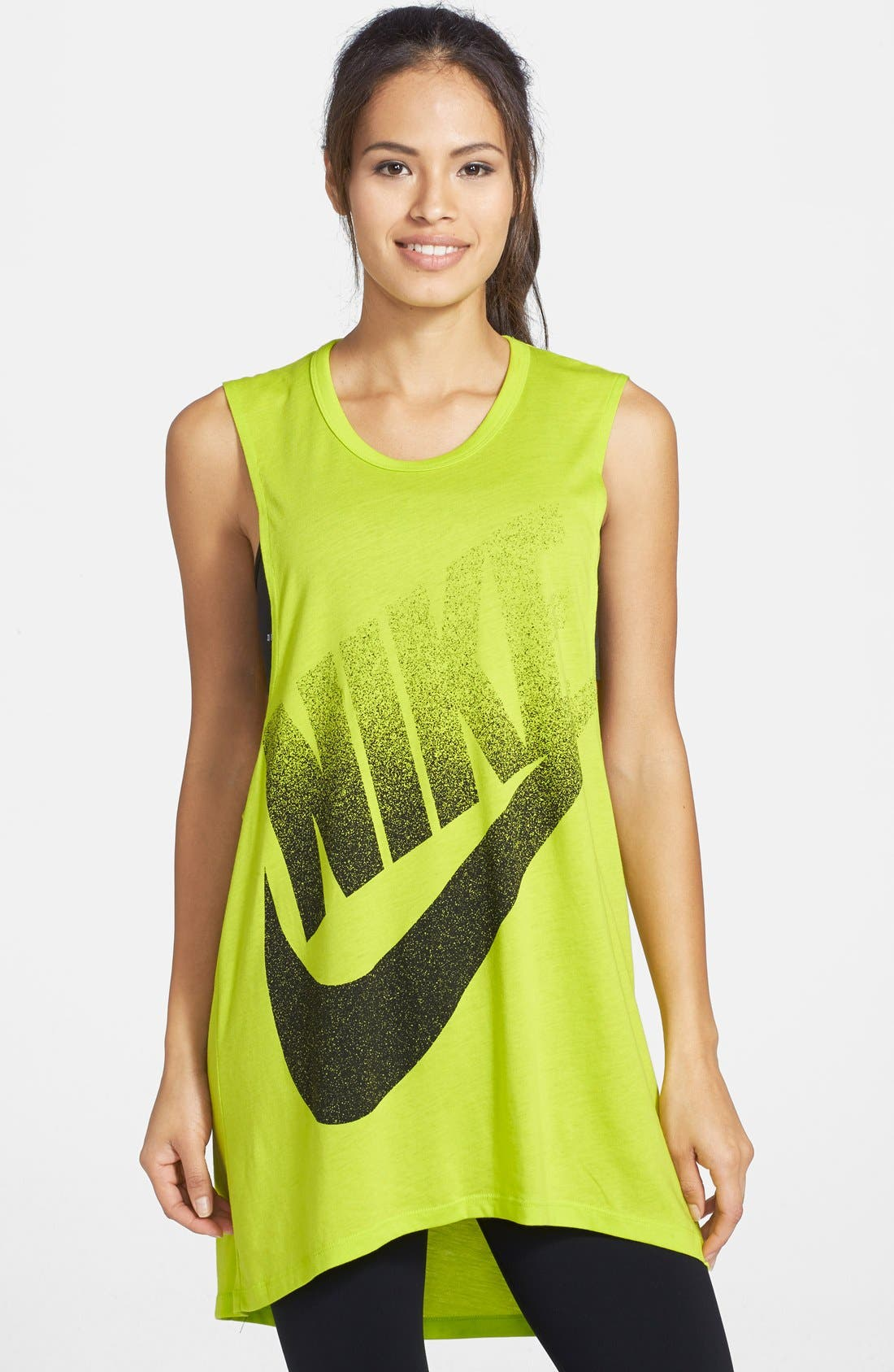 Alternate Image 1 Selected - Nike 'Signal' Muscle Dress