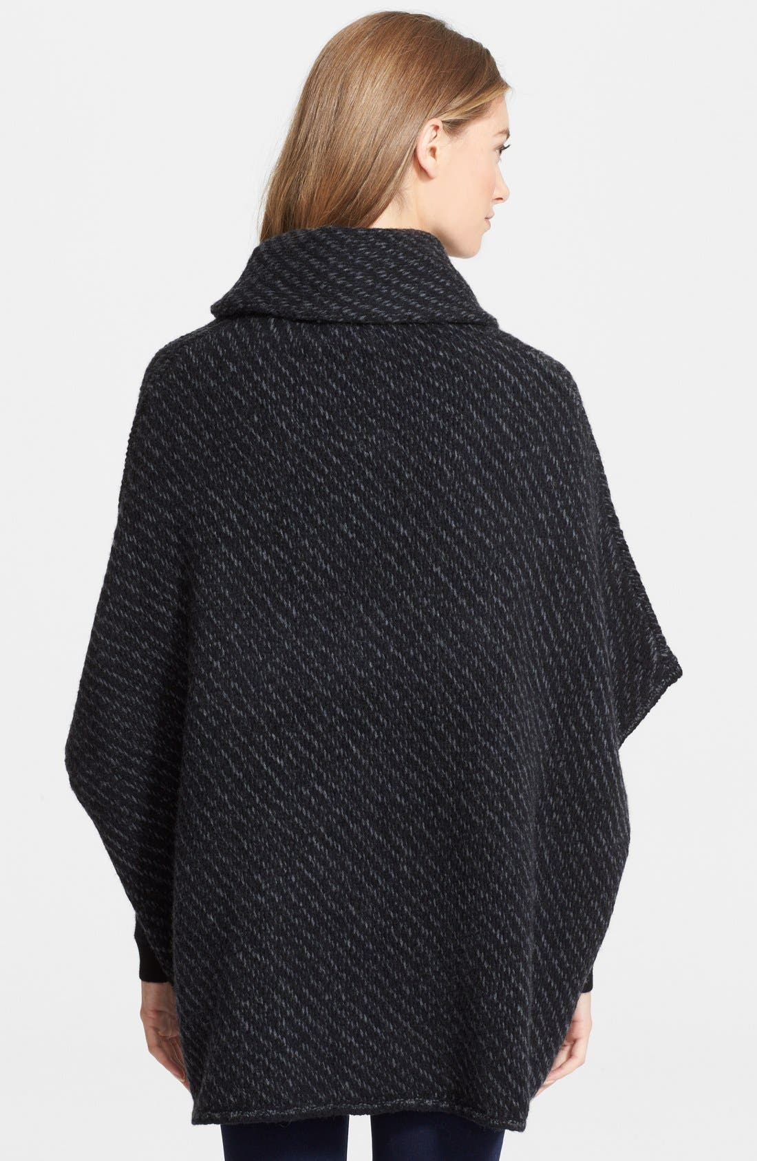 Alternate Image 2  - Joie 'Stellan' Merino Wool & Cashmere Turtleneck Poncho Sweater