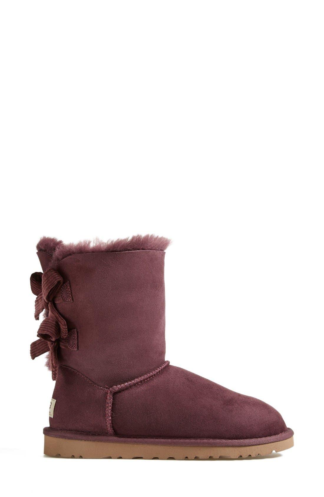 Alternate Image 7  - UGG® Australia 'Bailey Bow Corduroy' Boot (Women)