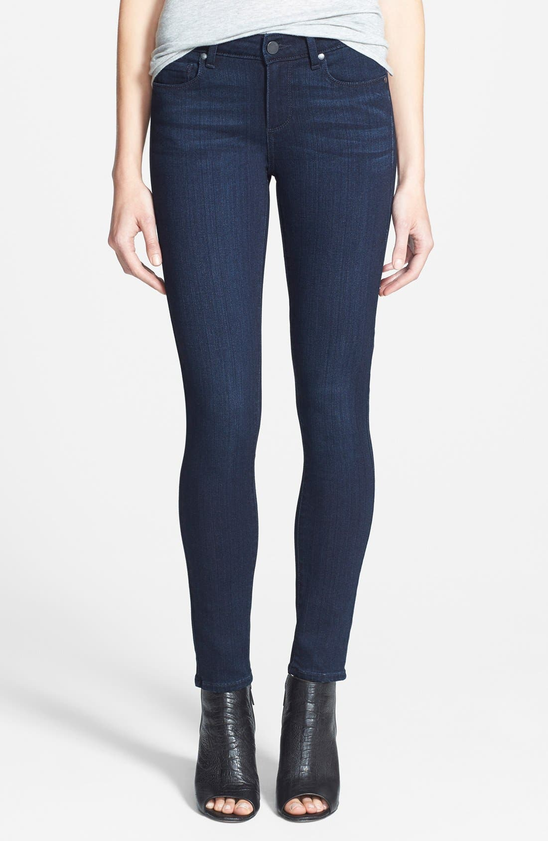 Alternate Image 1 Selected - PAIGE 'Transcend - Verdugo' Ankle Jeans (Mae)