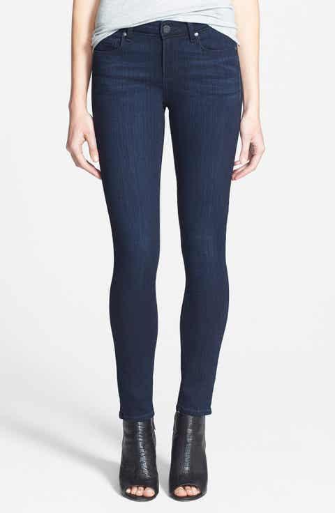 Dark Blue Wash Skinny Jeans for Women | Nordstrom