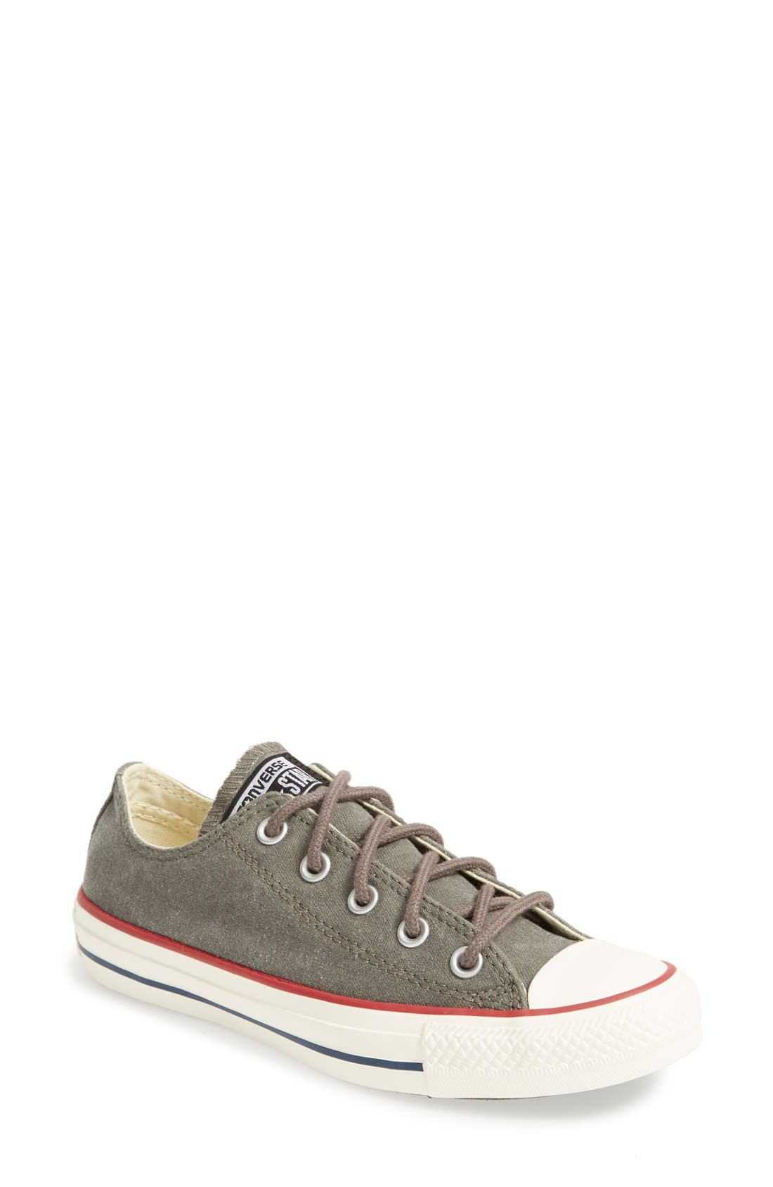 Alternate Image 1 Selected - Converse Chuck Taylor® All Star® 'Ox' Canvas Sneaker (Women)