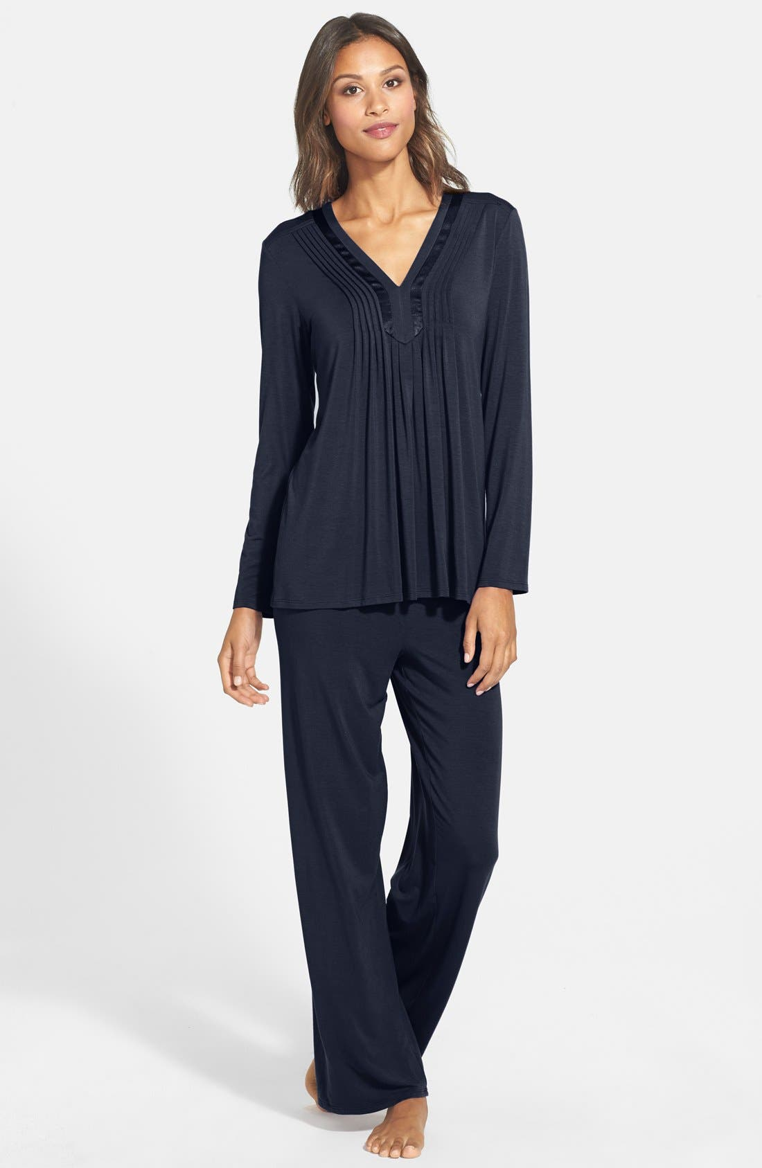 Alternate Image 1 Selected - Midnight by Carole Hochman 'Restful Mornings' Pajamas